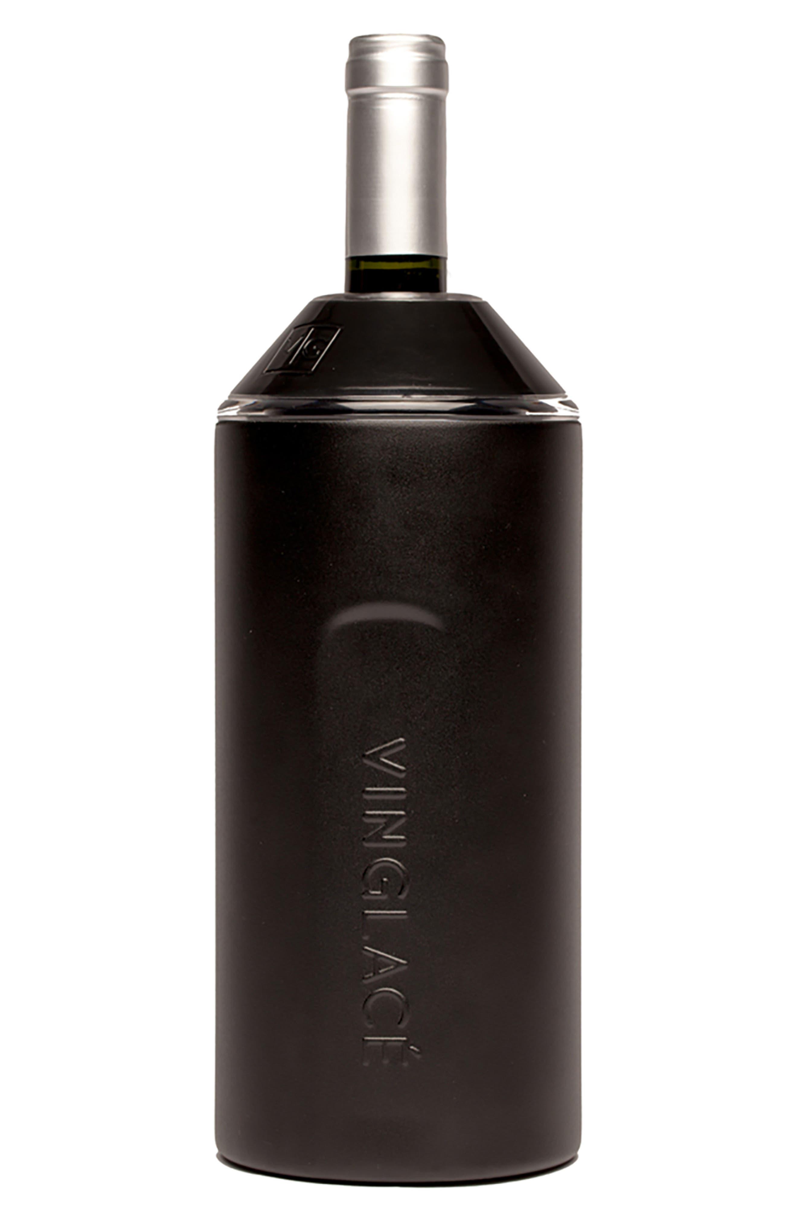 Vinglacé Wine Chiller,                         Main,                         color, BLACK