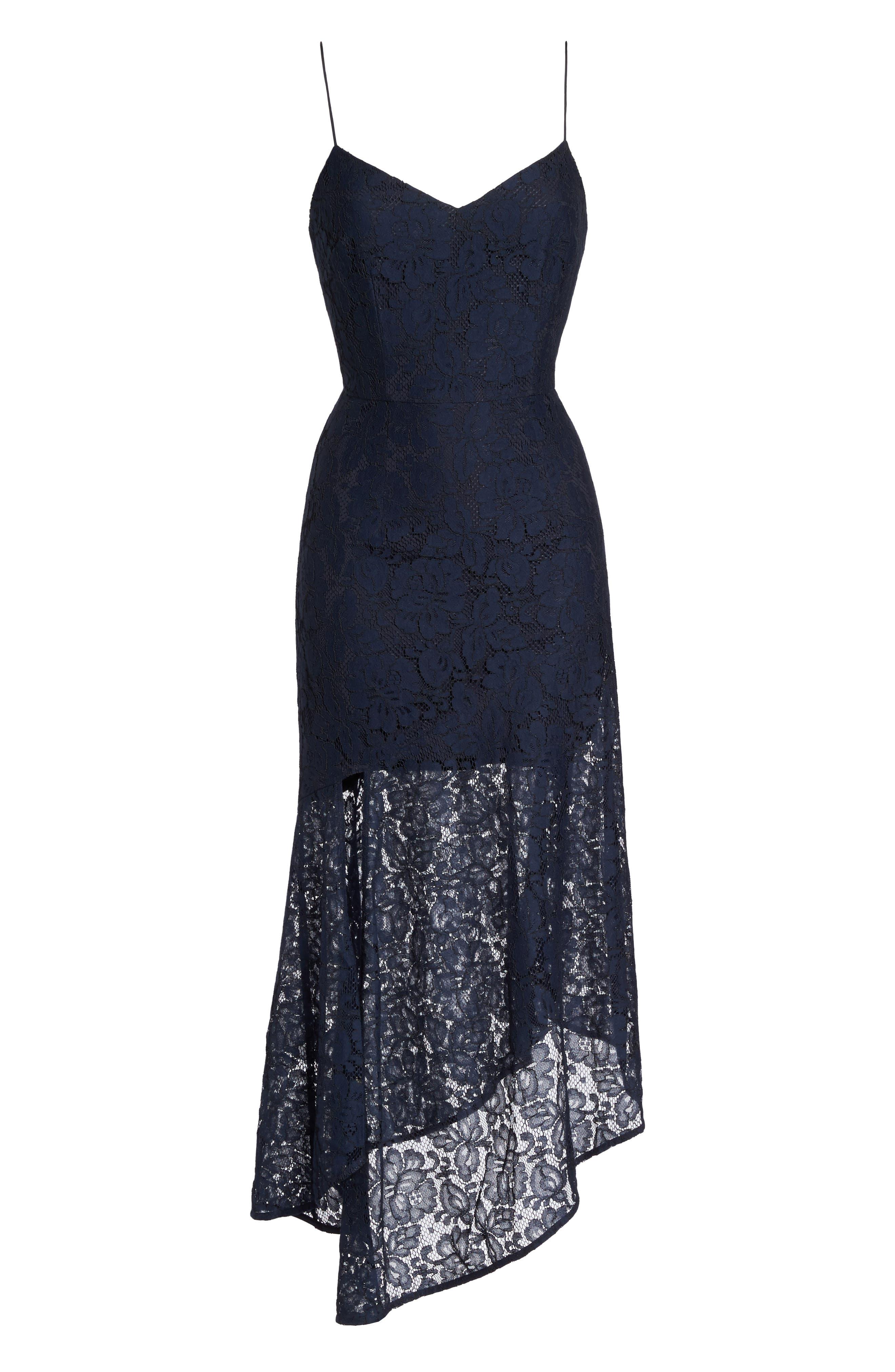 Soho Lace Midi Dress,                             Alternate thumbnail 6, color,                             400