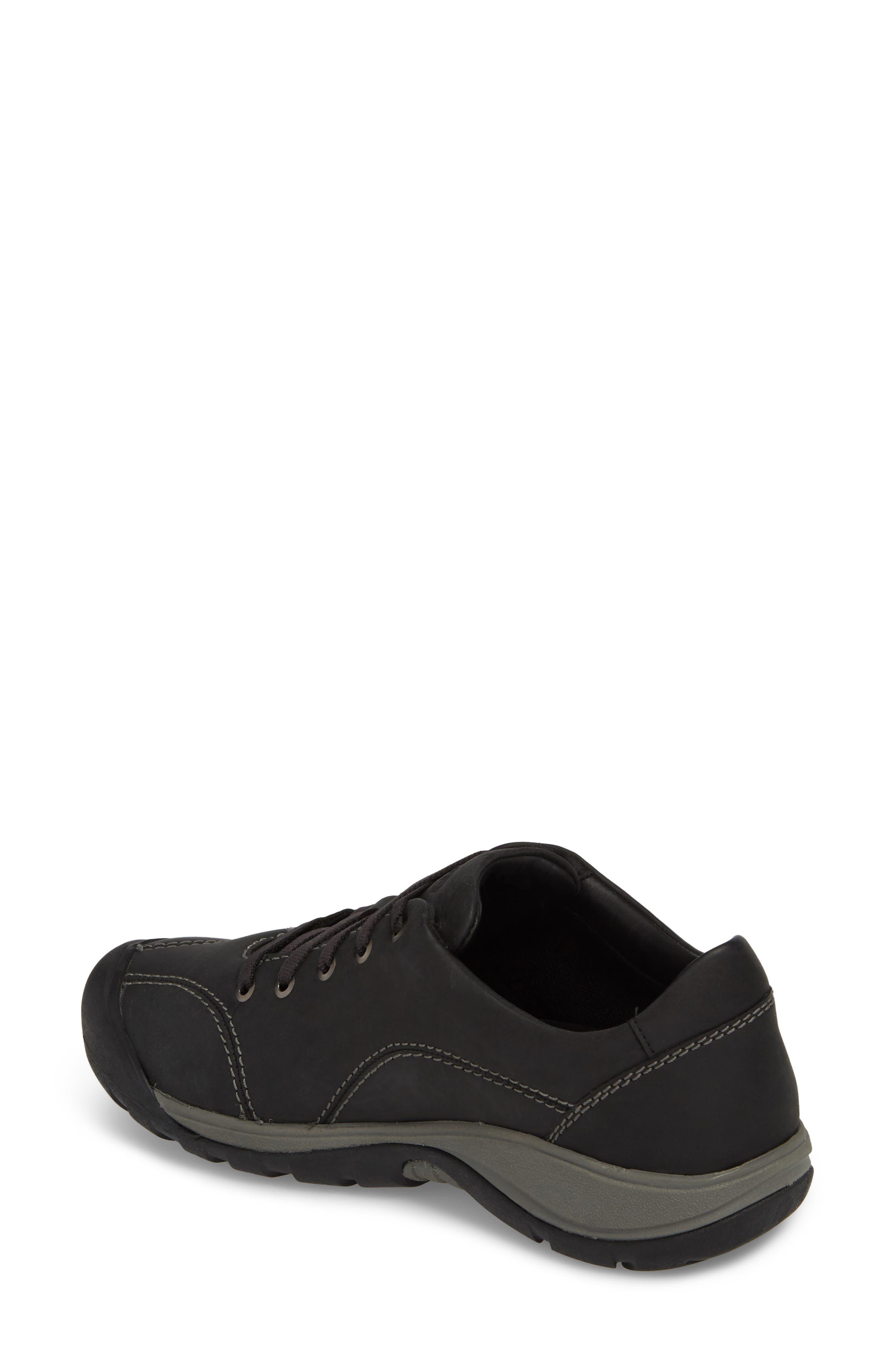 Presidio II Sneaker,                             Alternate thumbnail 2, color,                             BLACK/ STEEL GREY LEATHER