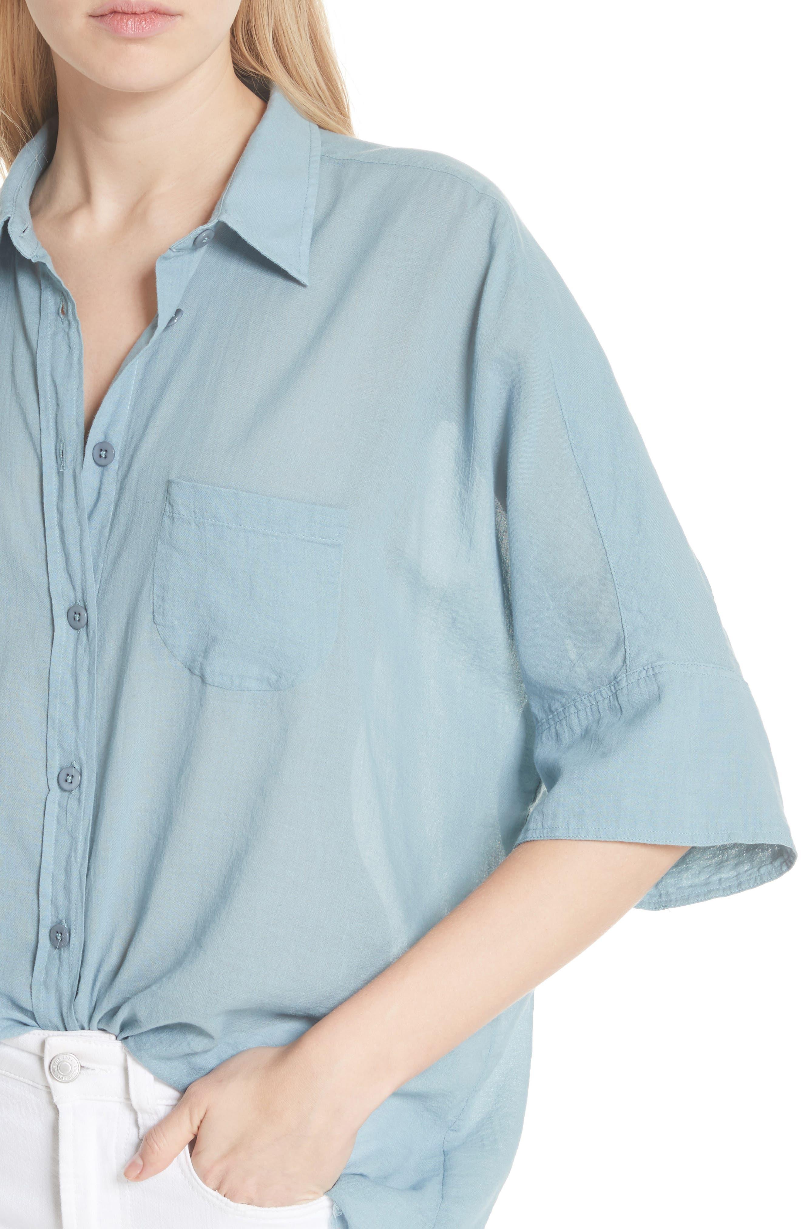 Best of Me Button Down Shirt,                             Alternate thumbnail 16, color,