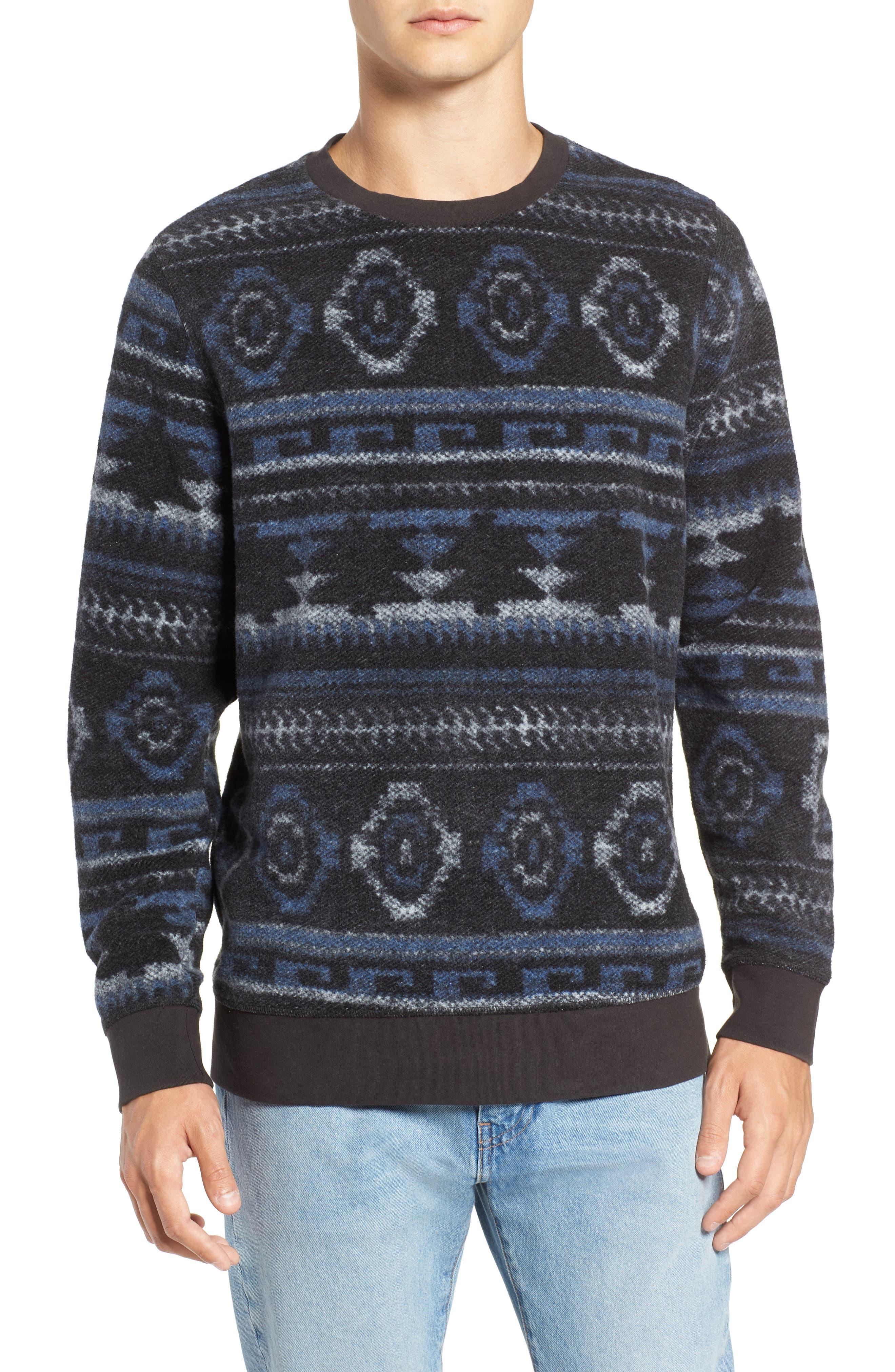 Fleece Sweatshirt,                             Main thumbnail 1, color,                             020