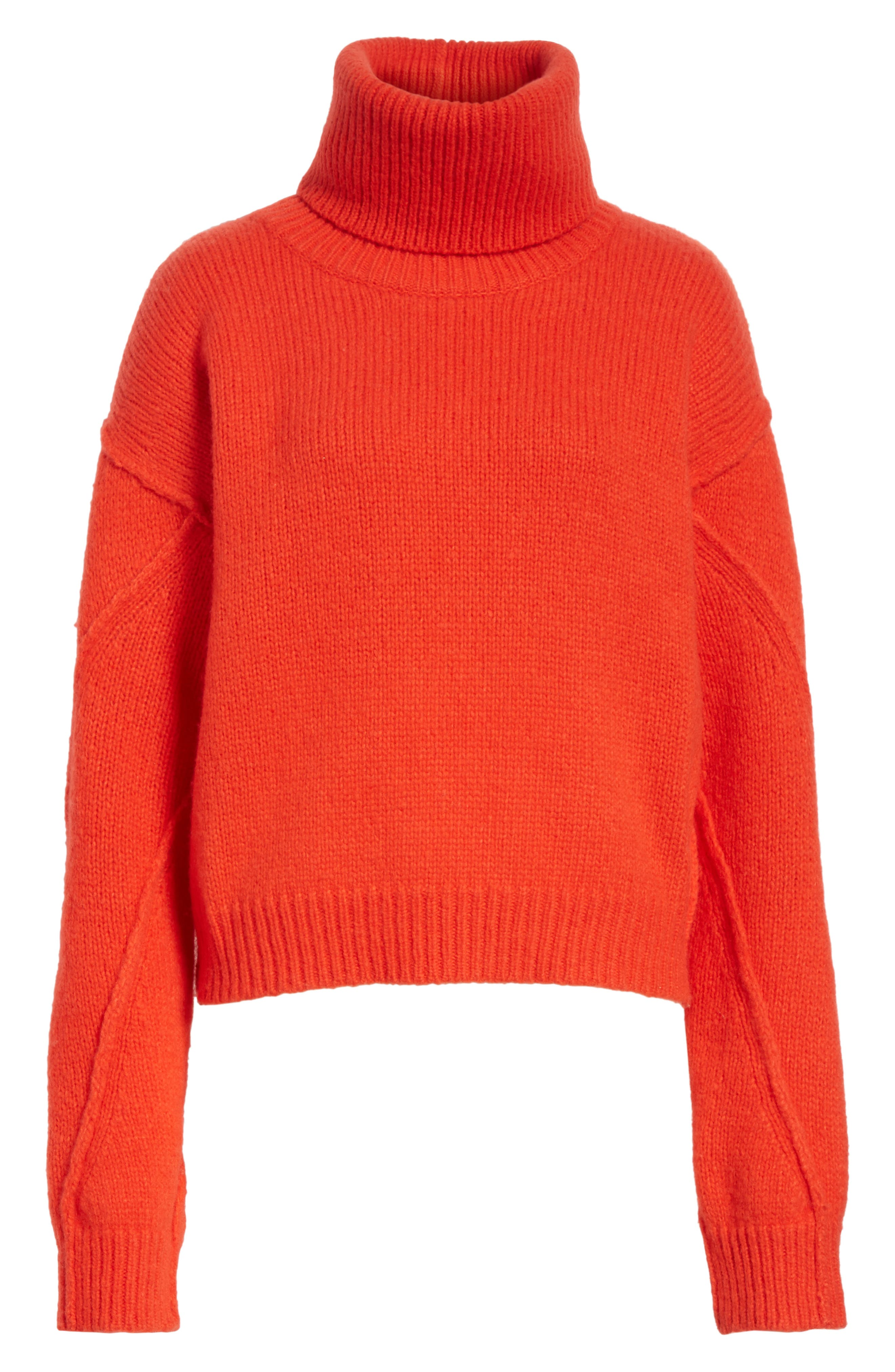 Eva Sweater with Removable Turtleneck,                             Alternate thumbnail 17, color,
