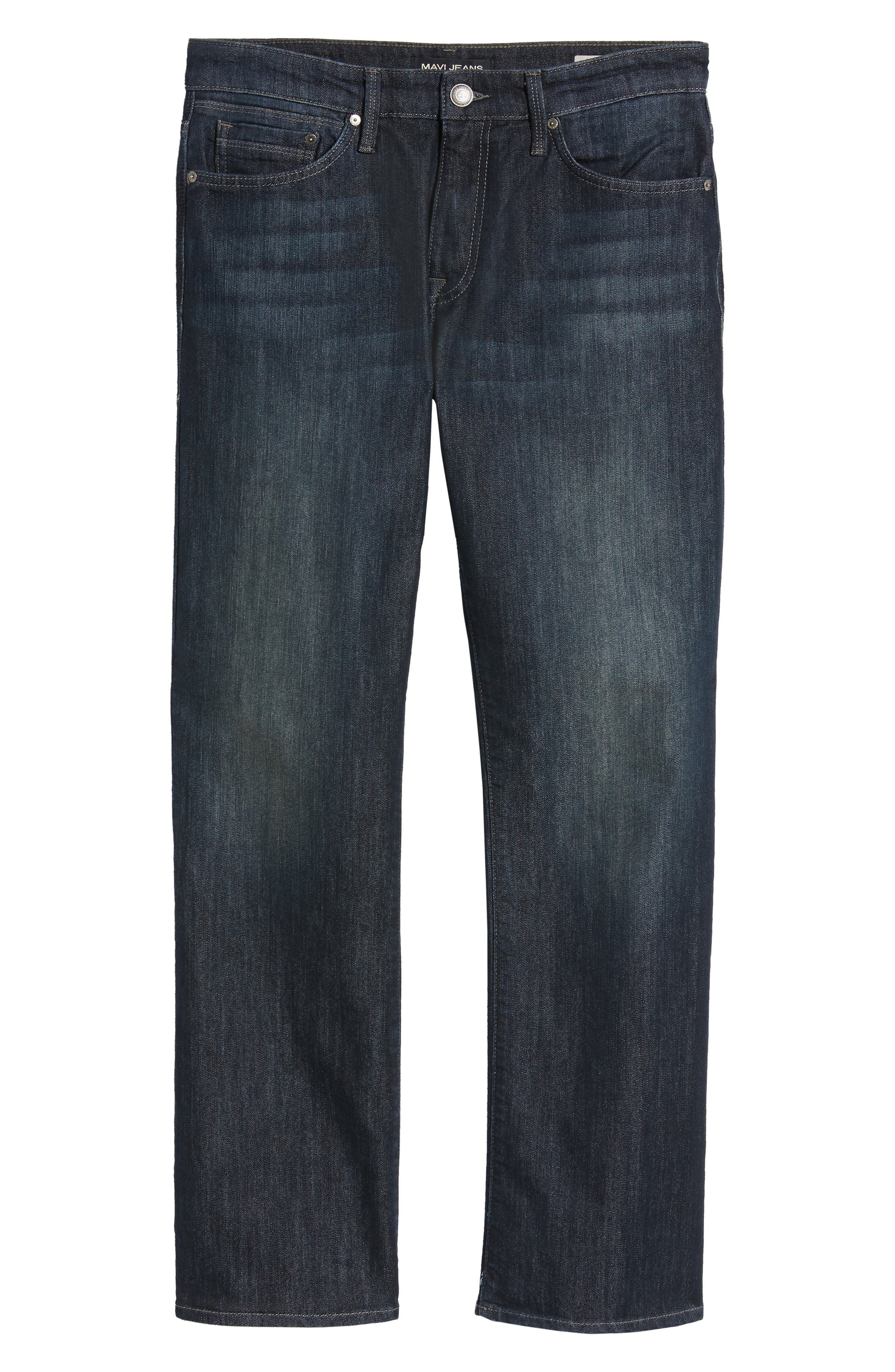 Josh Bootcut Jeans,                             Alternate thumbnail 6, color,                             DEEP STANFORD