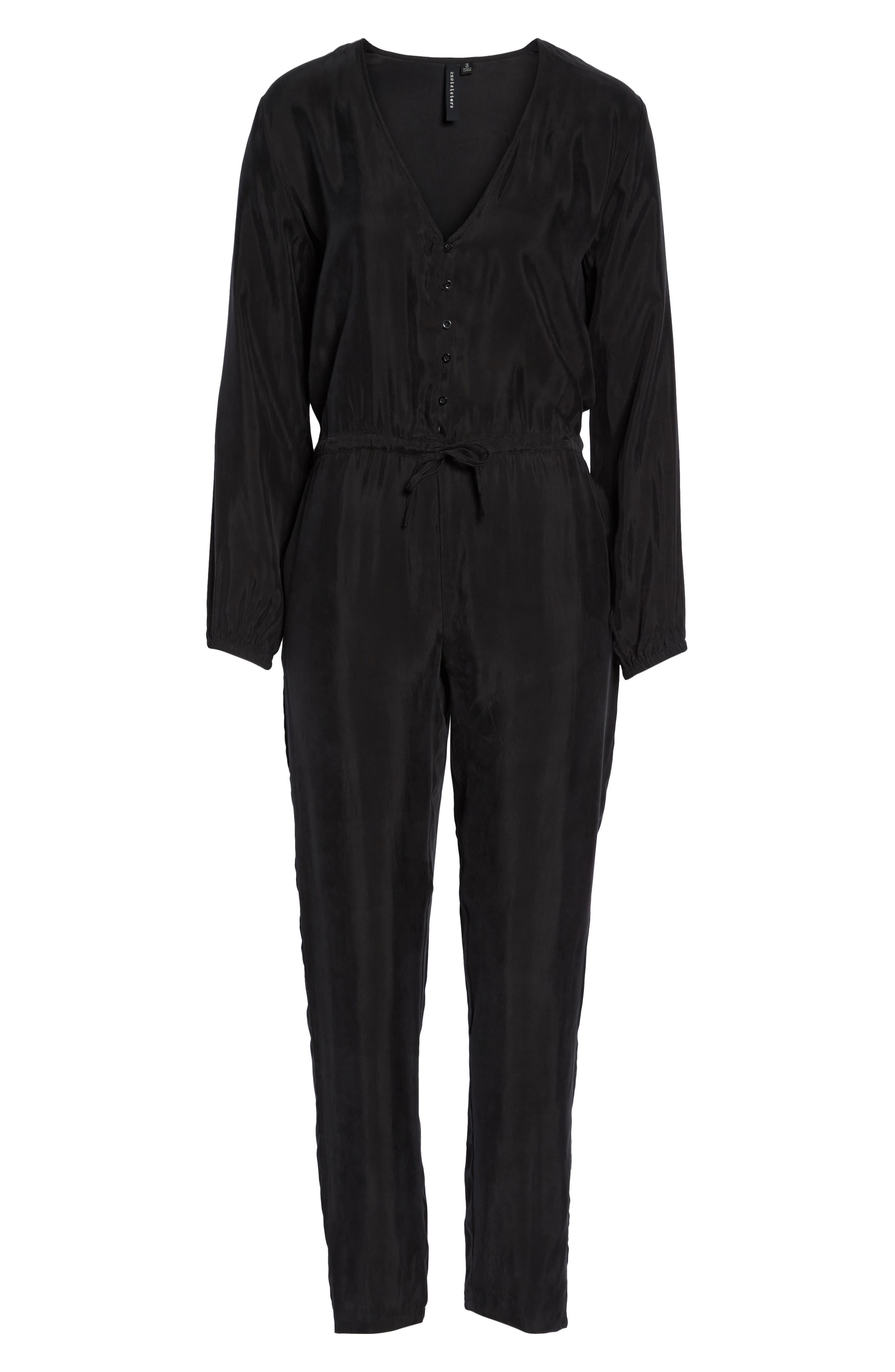 Elizabeth Jumpsuit,                             Alternate thumbnail 6, color,                             001
