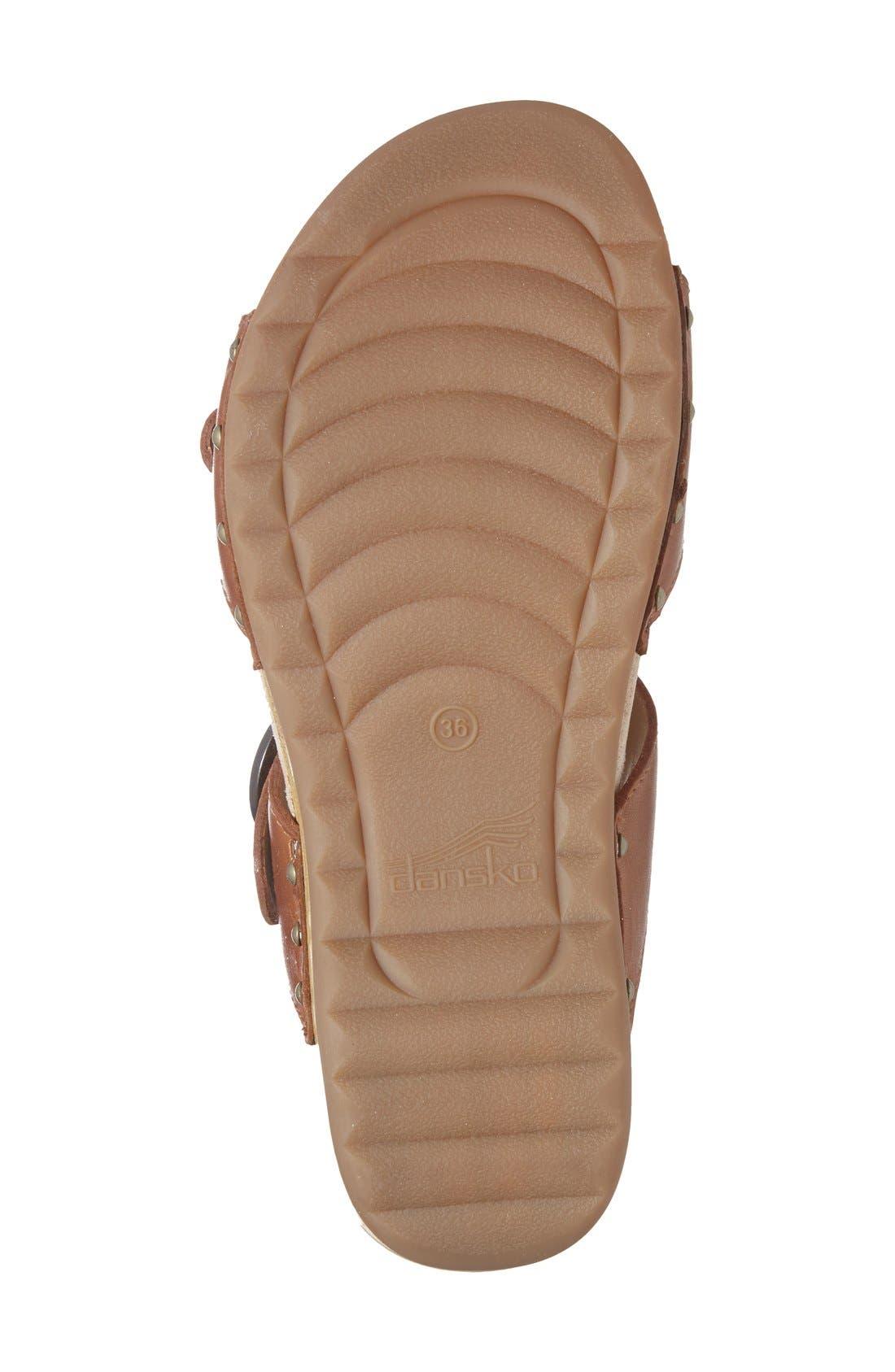 'Manda' Slide Sandal,                             Alternate thumbnail 4, color,                             205