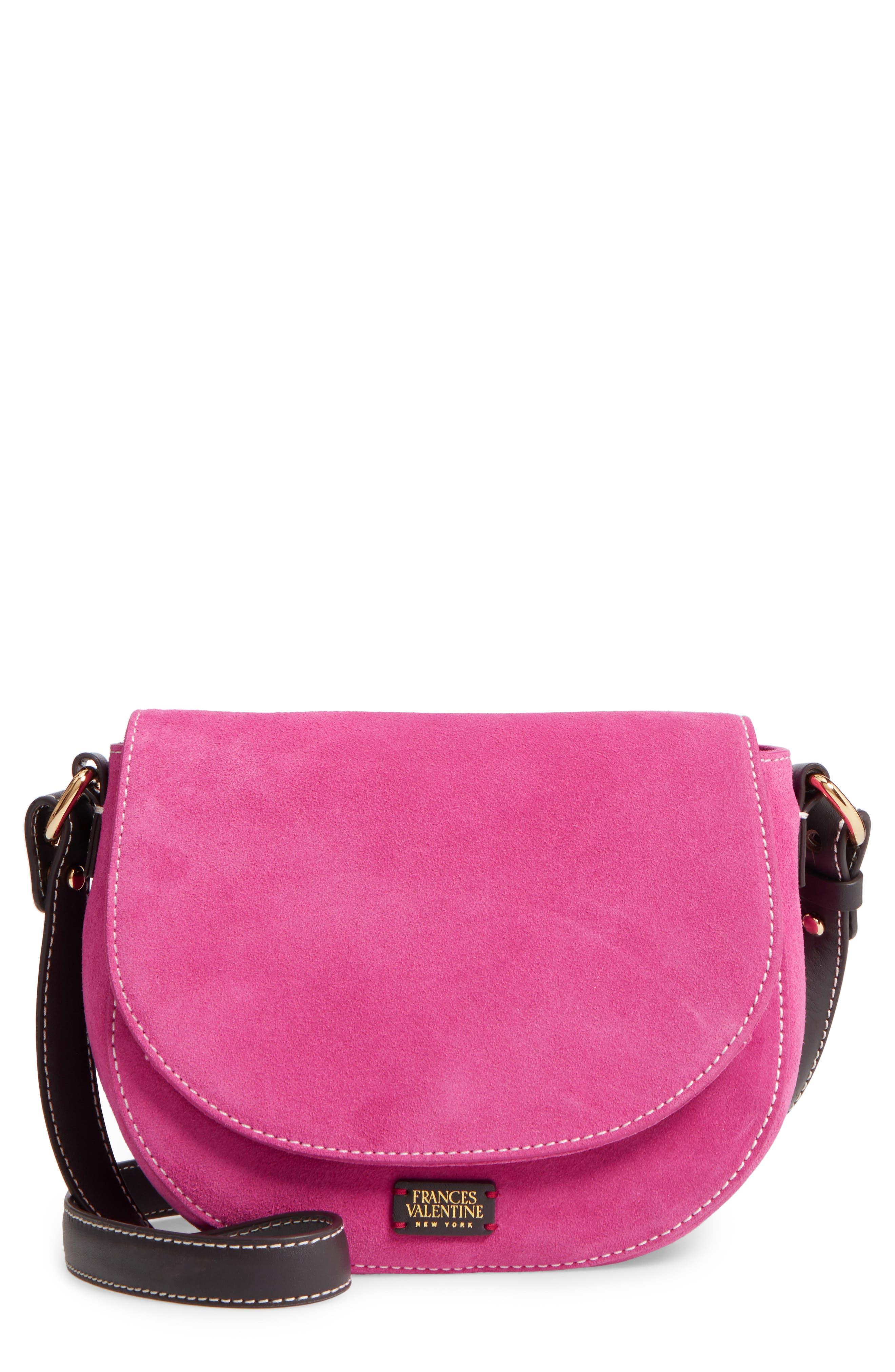 Mini Ellen Suede Crossbody Bag,                             Main thumbnail 3, color,