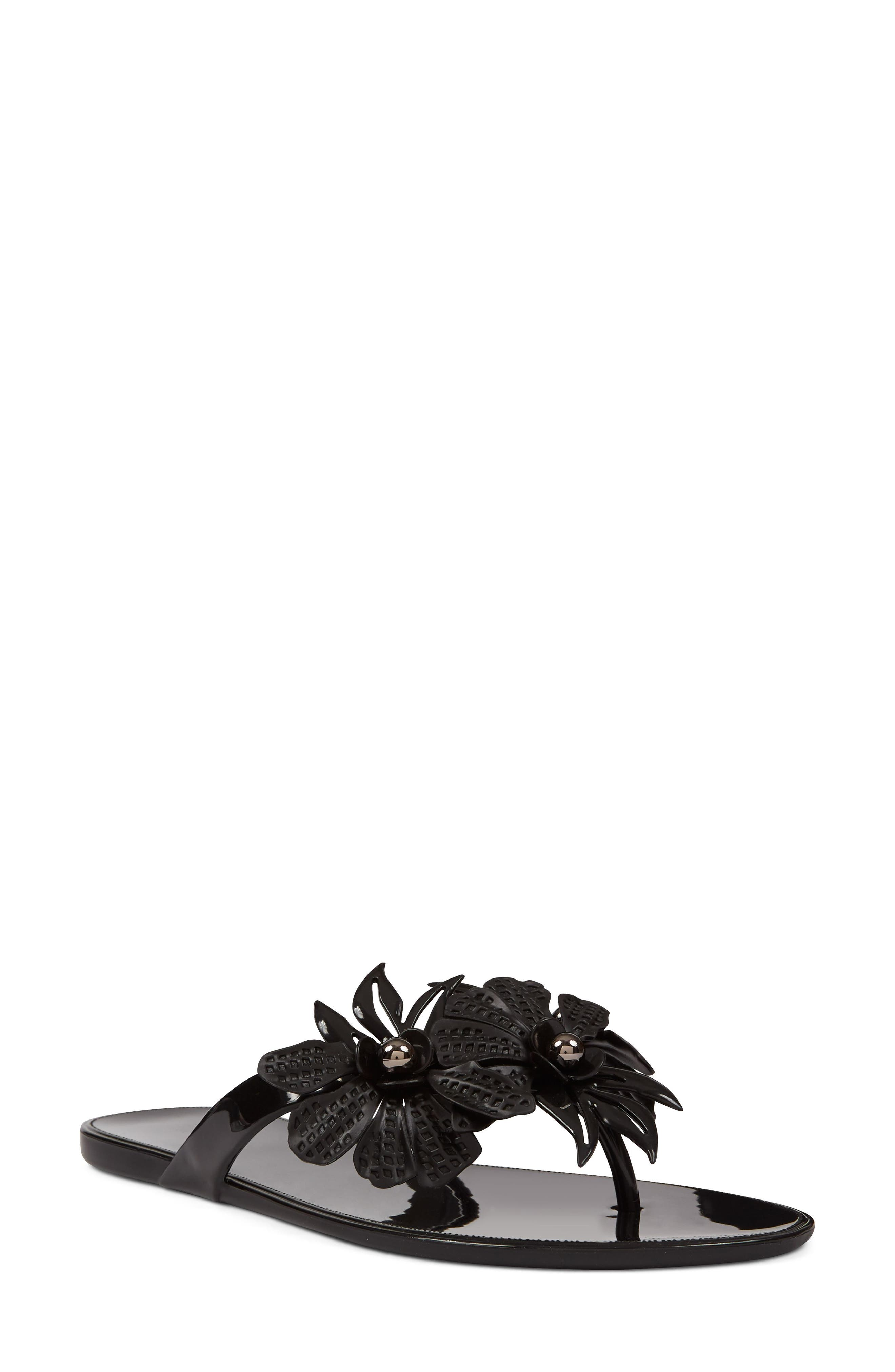 Macinee Thong Sandal,                         Main,                         color, 001