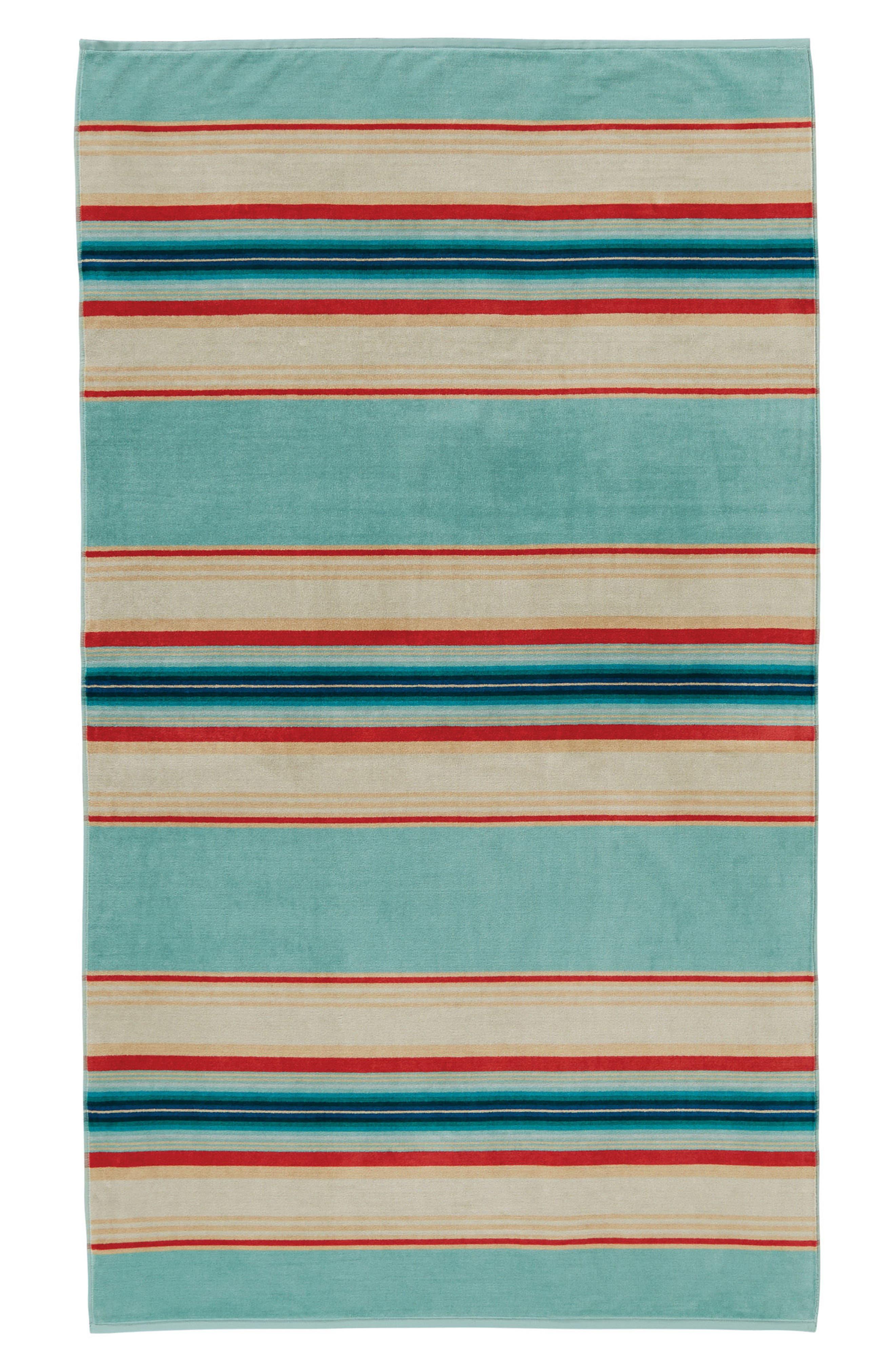 Serape Stripe Beach Towel,                             Main thumbnail 1, color,                             400