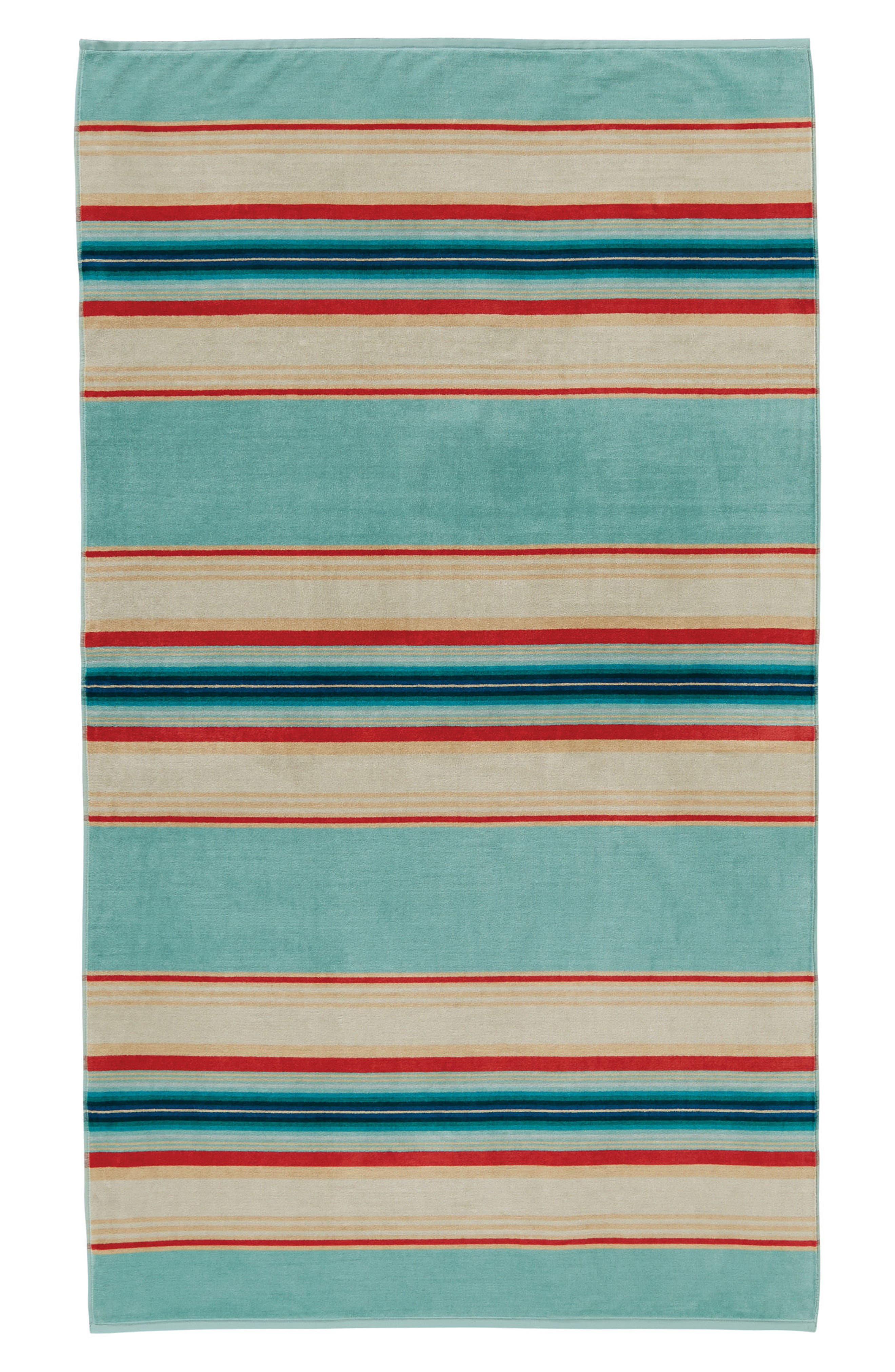 Serape Stripe Beach Towel,                         Main,                         color, 400