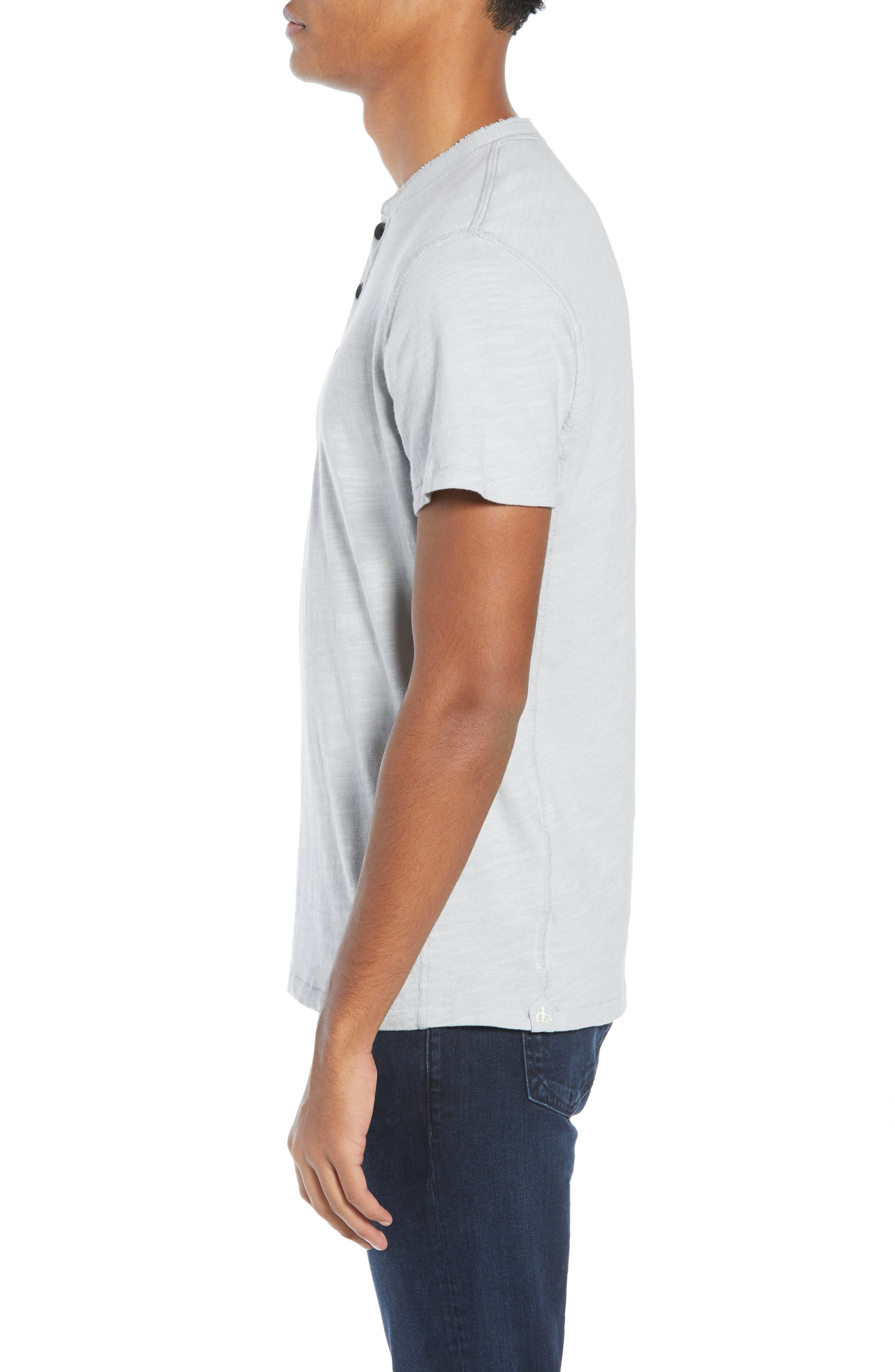 Standard Issue Henley,                             Alternate thumbnail 3, color,                             BLUE GREY