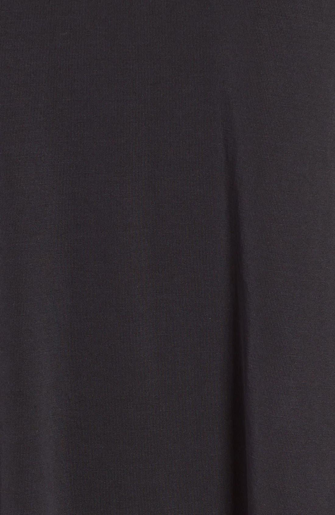 SOCIALITE,                             Cross Front T-Shirt Dress,                             Alternate thumbnail 5, color,                             001