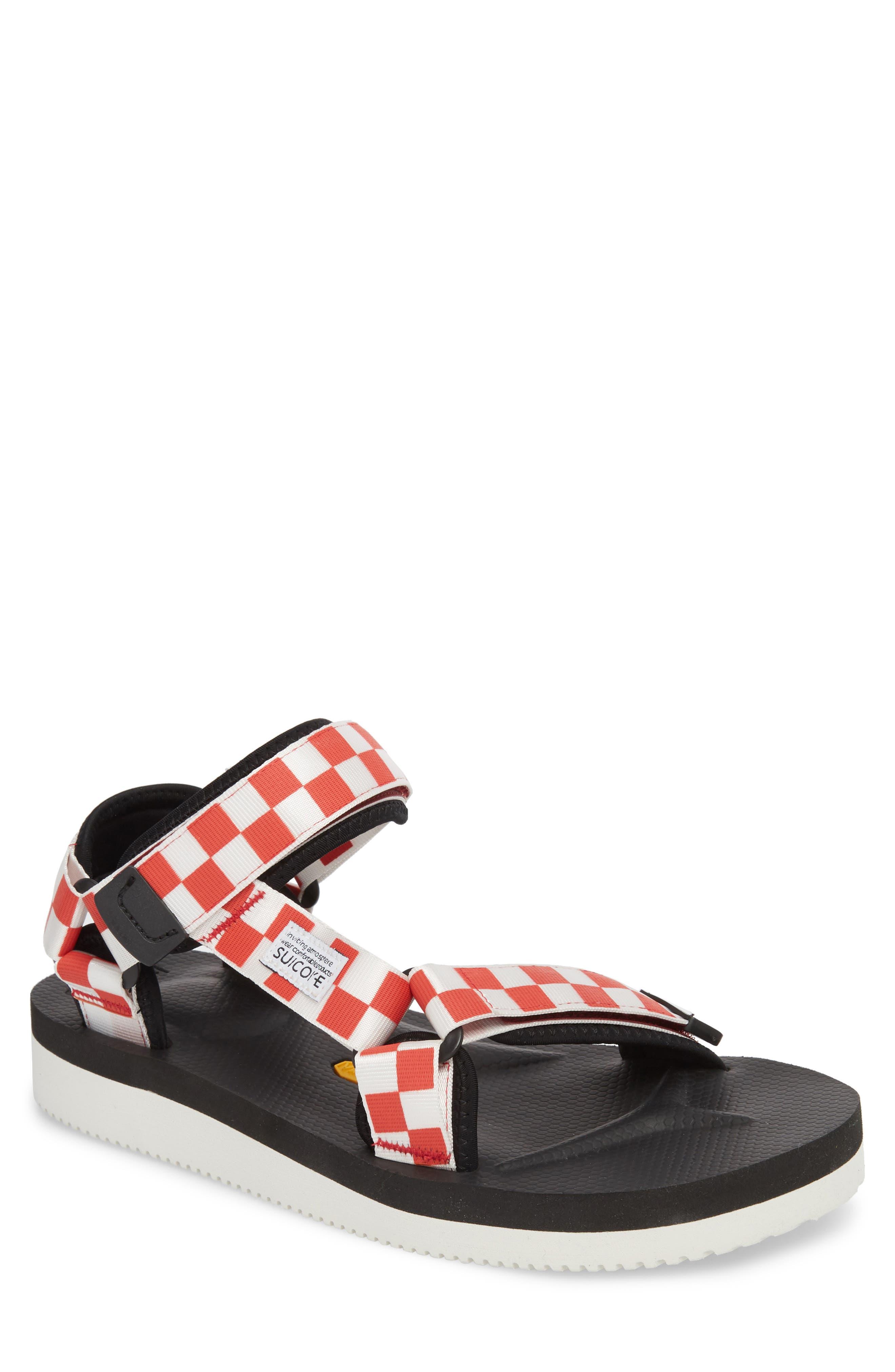 Depa Sport Sandal,                         Main,                         color, RED