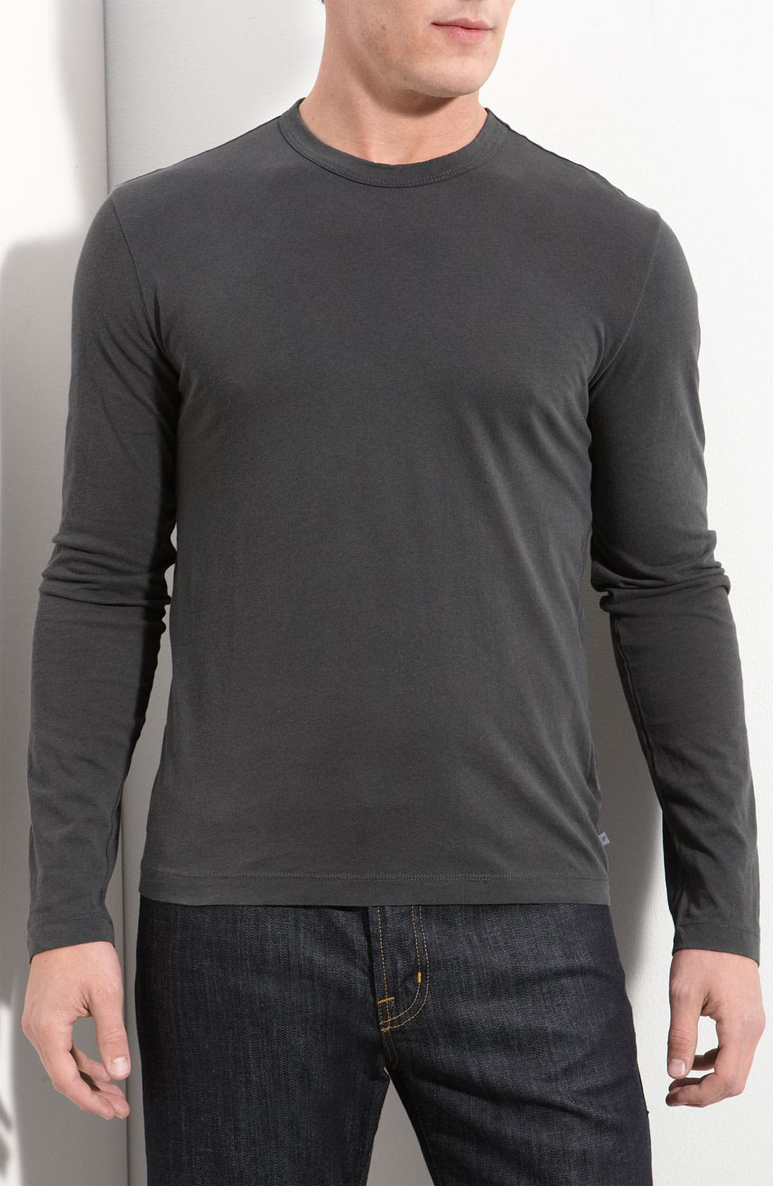 Long Sleeve Crewneck T-Shirt,                             Main thumbnail 12, color,