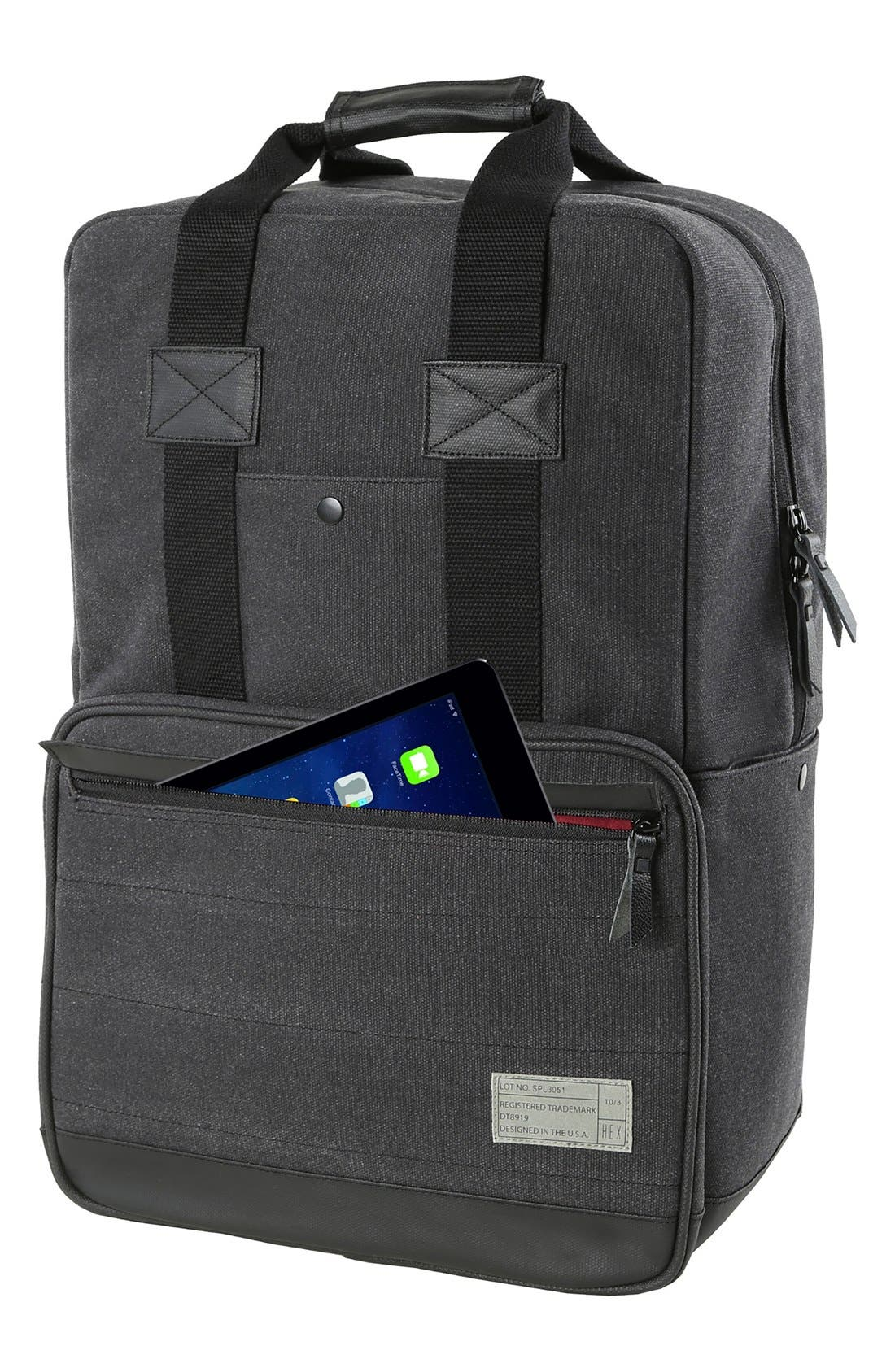 Supply Convertible Water Resistant Backpack,                             Alternate thumbnail 8, color,