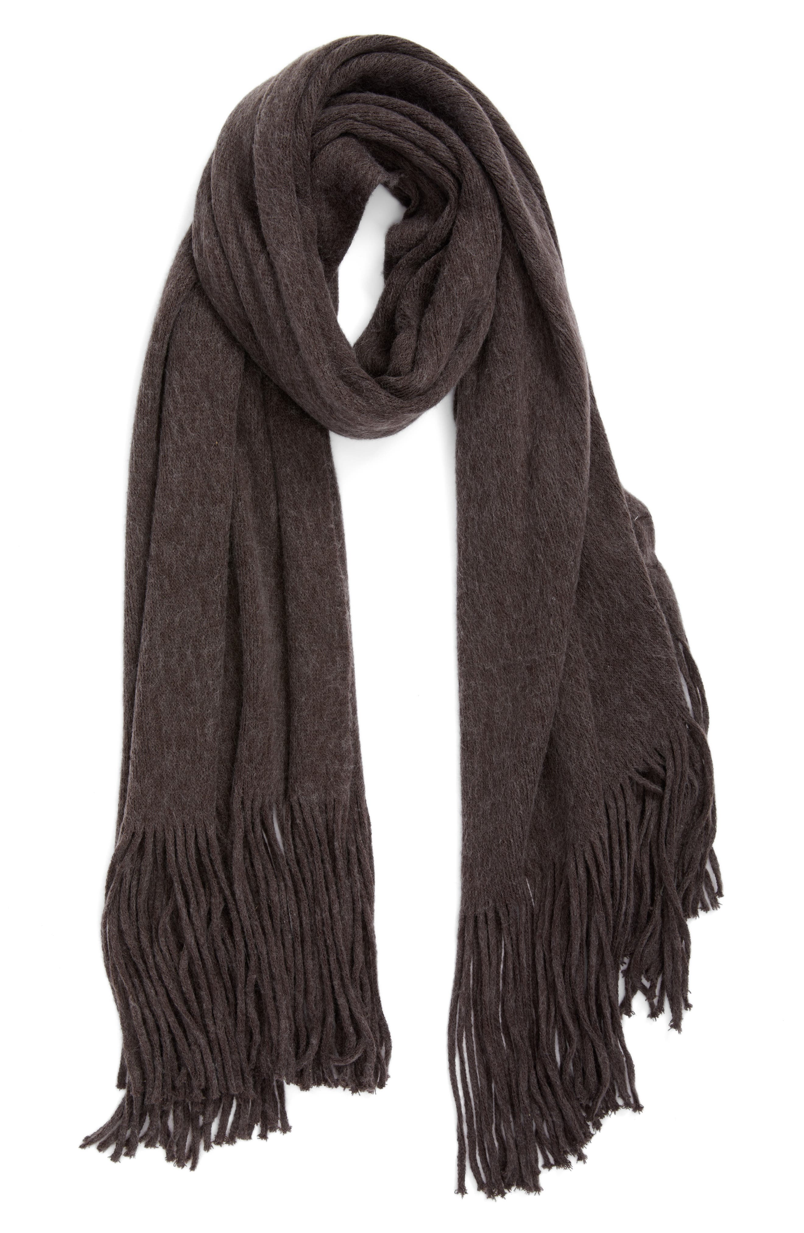 Kolby Brushed Scarf,                             Alternate thumbnail 2, color,                             021