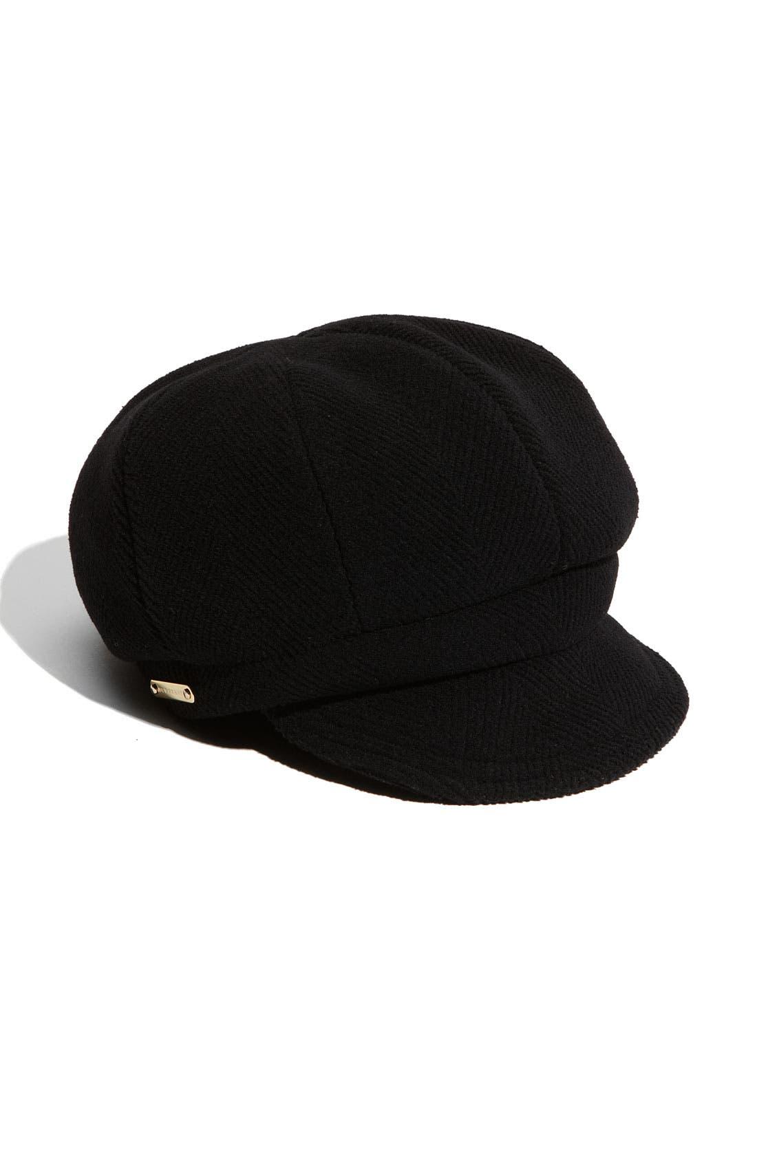 Wool Duffle Cap, Main, color, 001