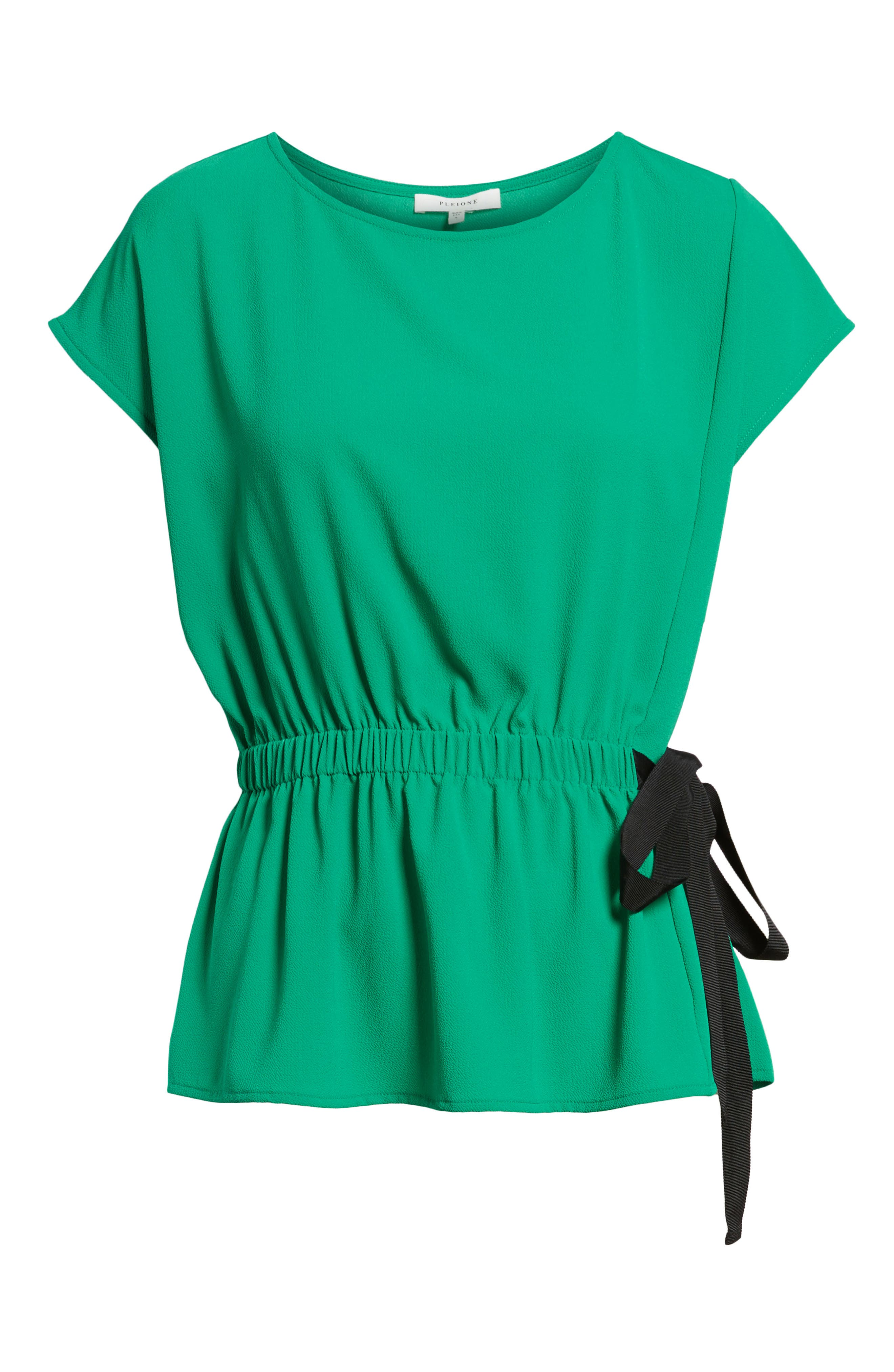 Gathered Waist Side Tie Top,                             Alternate thumbnail 32, color,