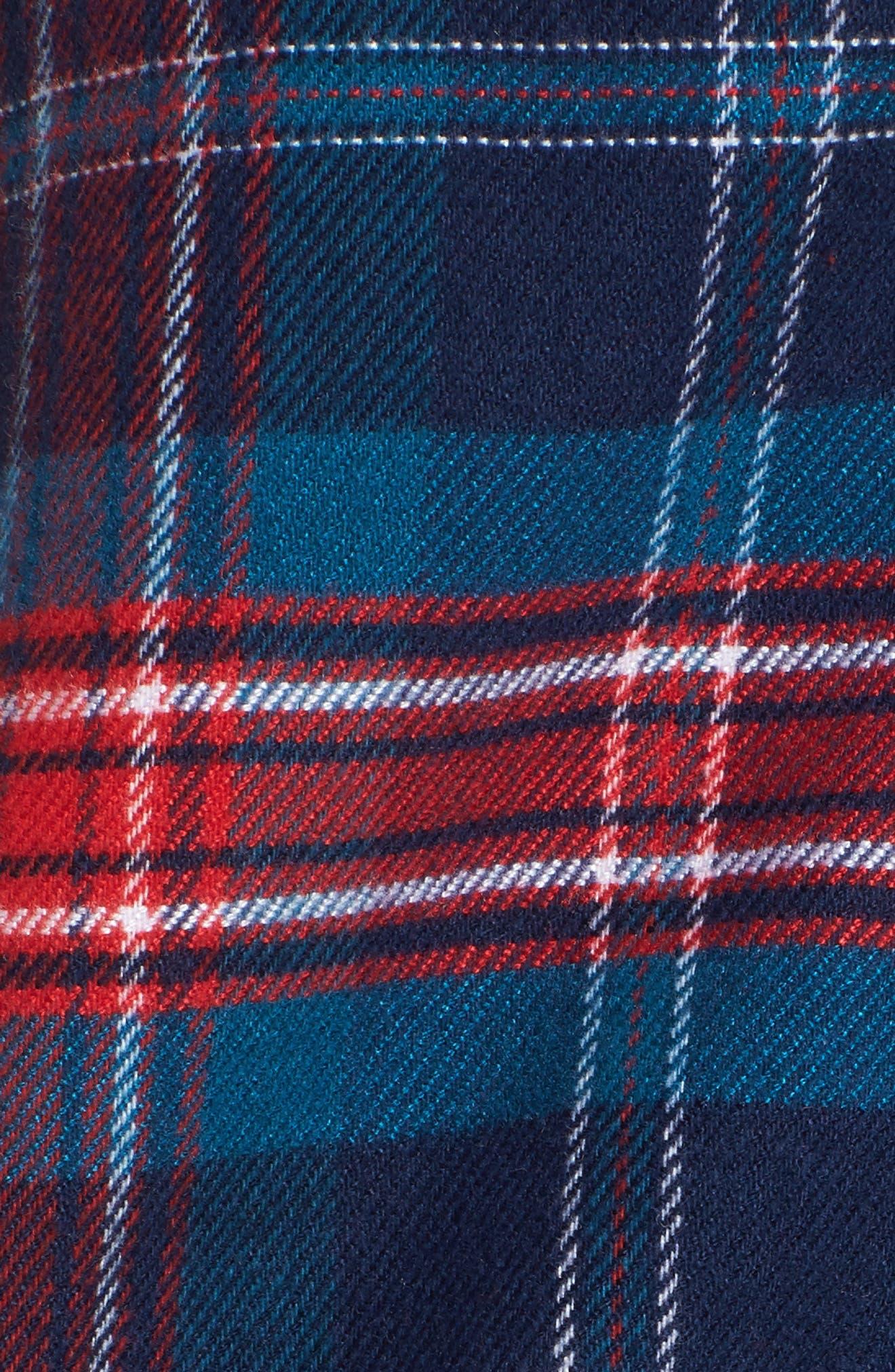 Lingerie Starlight Flannel Pajamas,                             Alternate thumbnail 22, color,