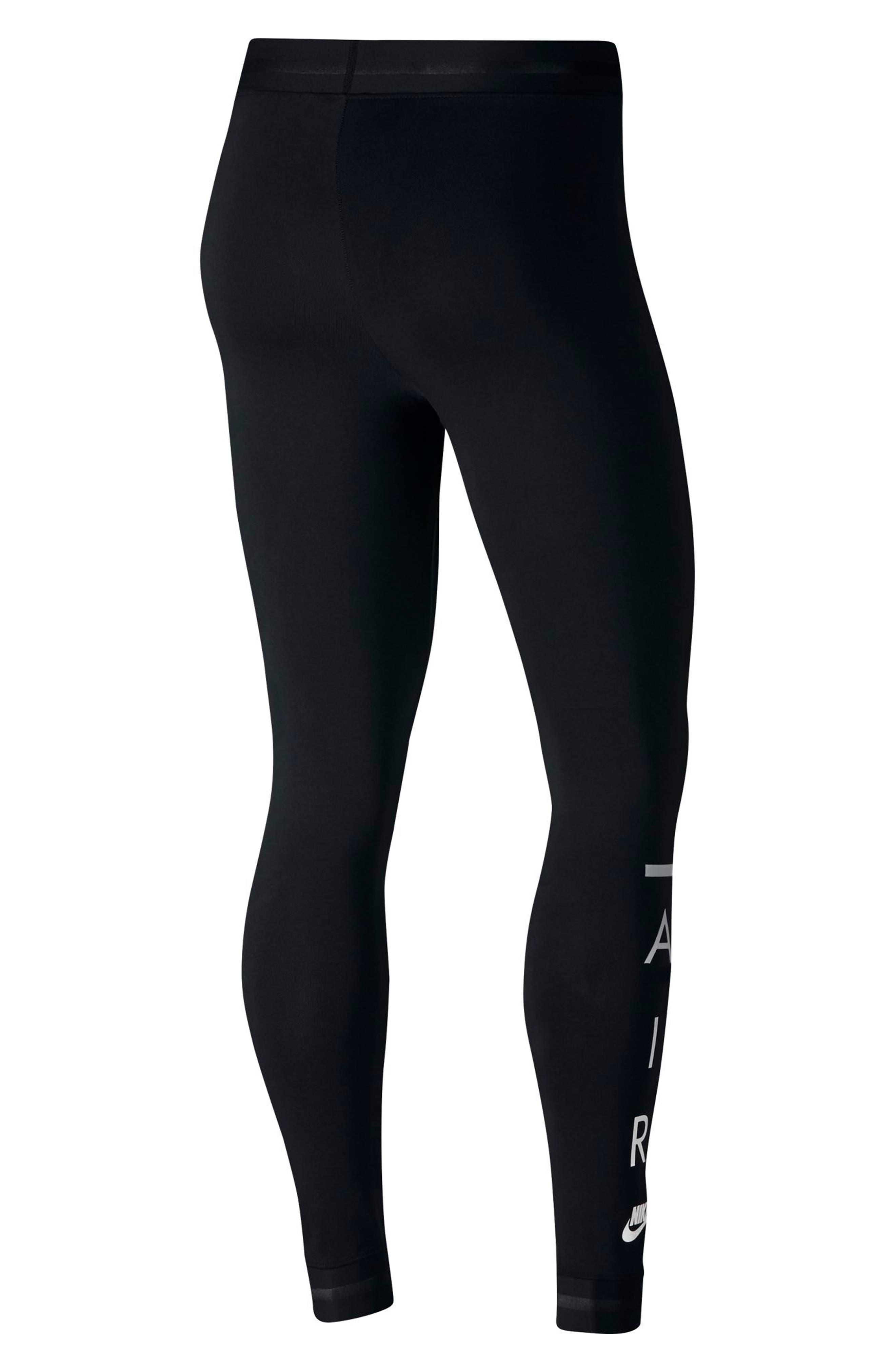 Sportswear Women's Leggings,                             Alternate thumbnail 2, color,                             BLACK/ BLACK/ BLACK