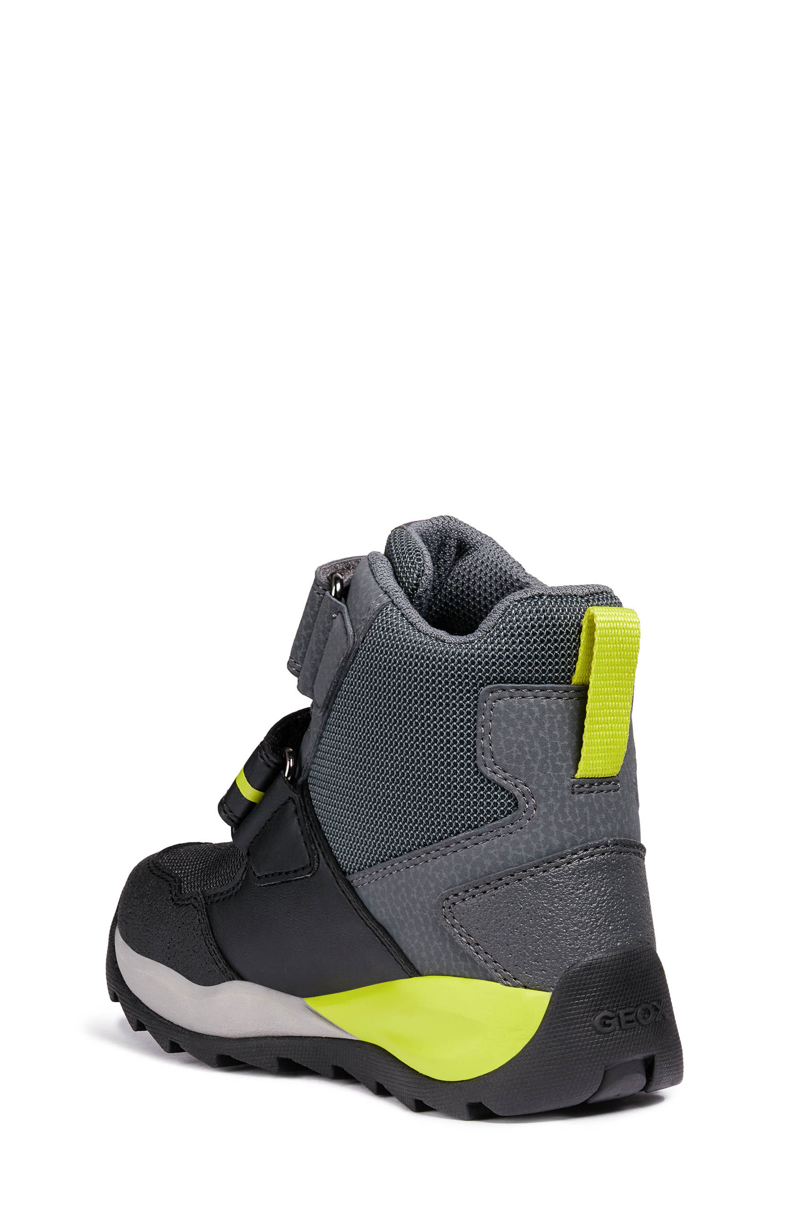 Orizont ABX Waterproof Boot,                             Alternate thumbnail 2, color,                             BLACK/ LIME