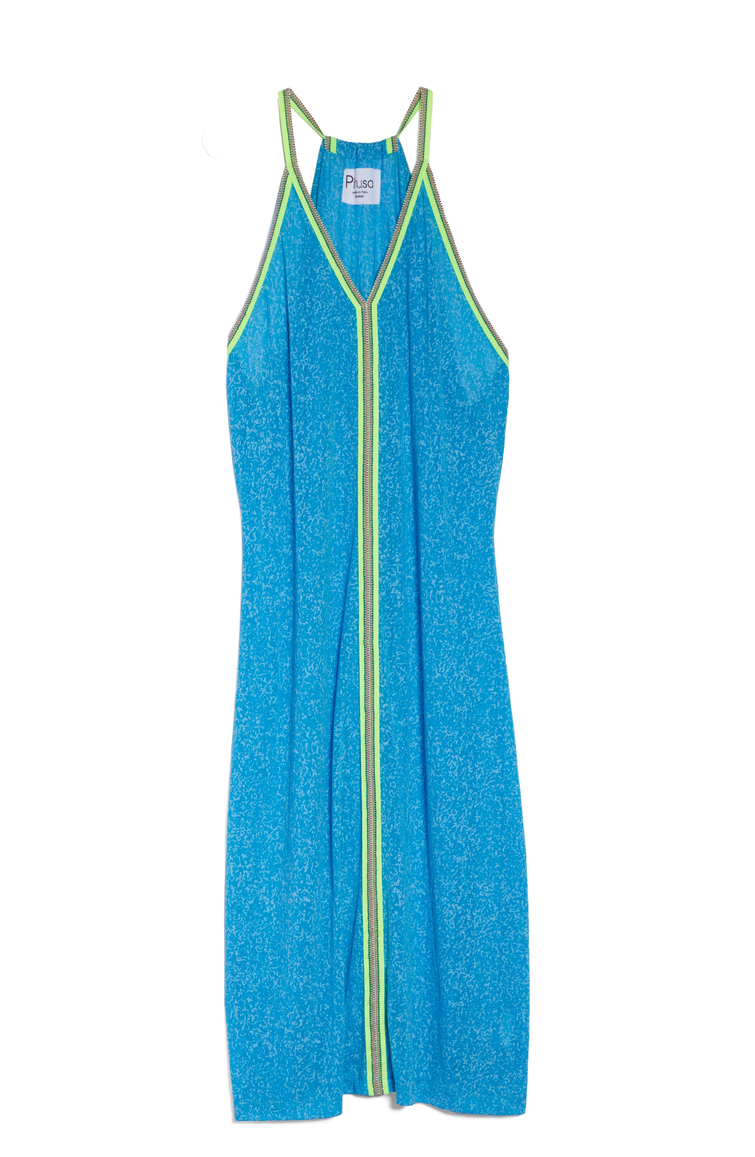 Cover-Up Maxi Dress,                             Alternate thumbnail 6, color,                             400