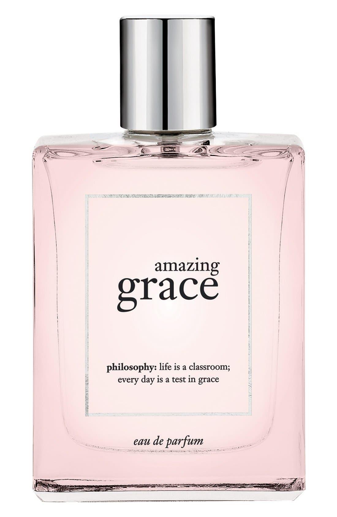 'amazing grace' eau de parfum spray,                         Main,                         color, NO COLOR