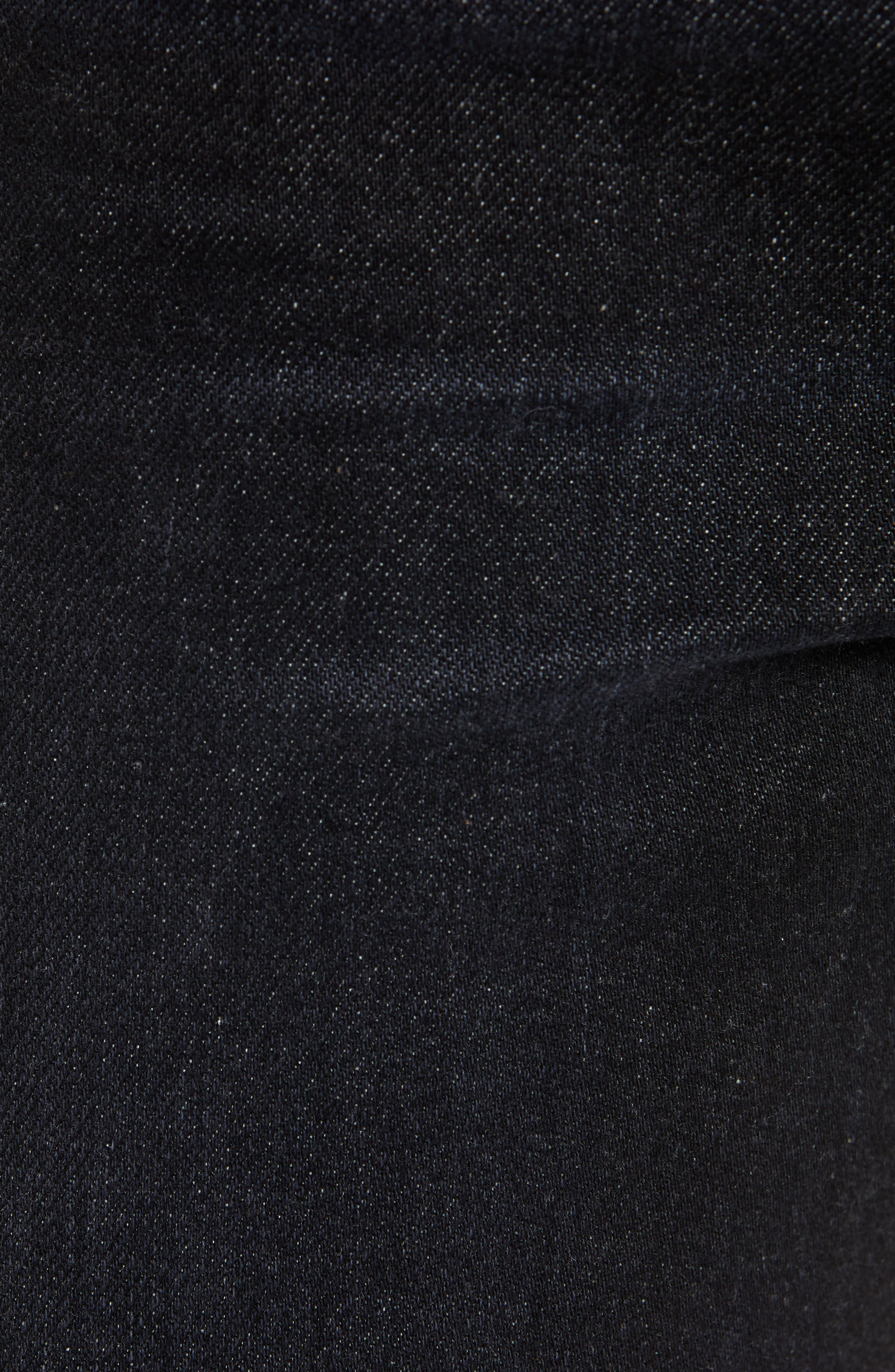 REVTOWN,                             Sharp Slim Fit Jeans,                             Alternate thumbnail 5, color,                             COAL BLACK