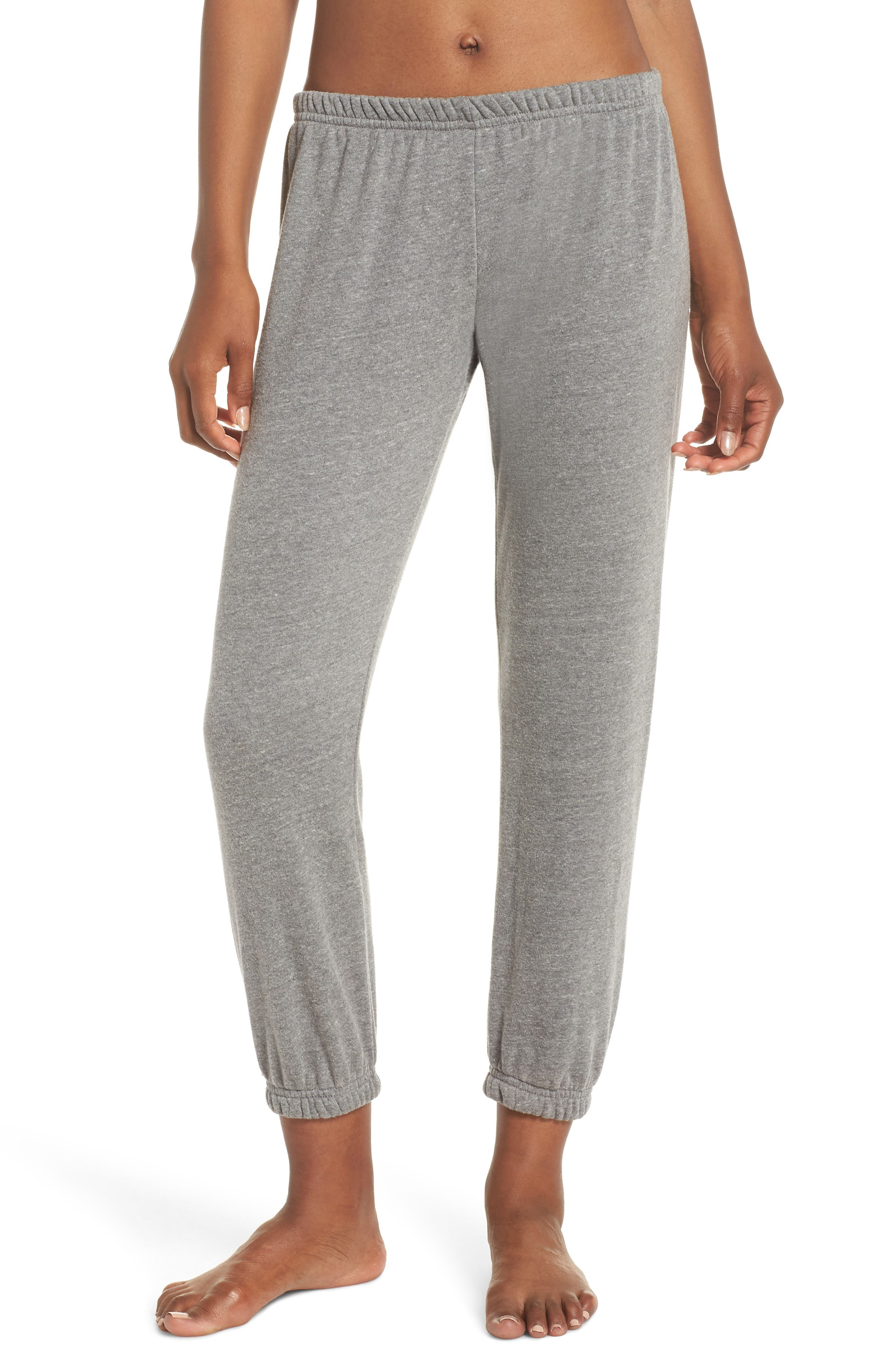 Varsity Perfect Sweatpants,                         Main,                         color, HEATHER GREY