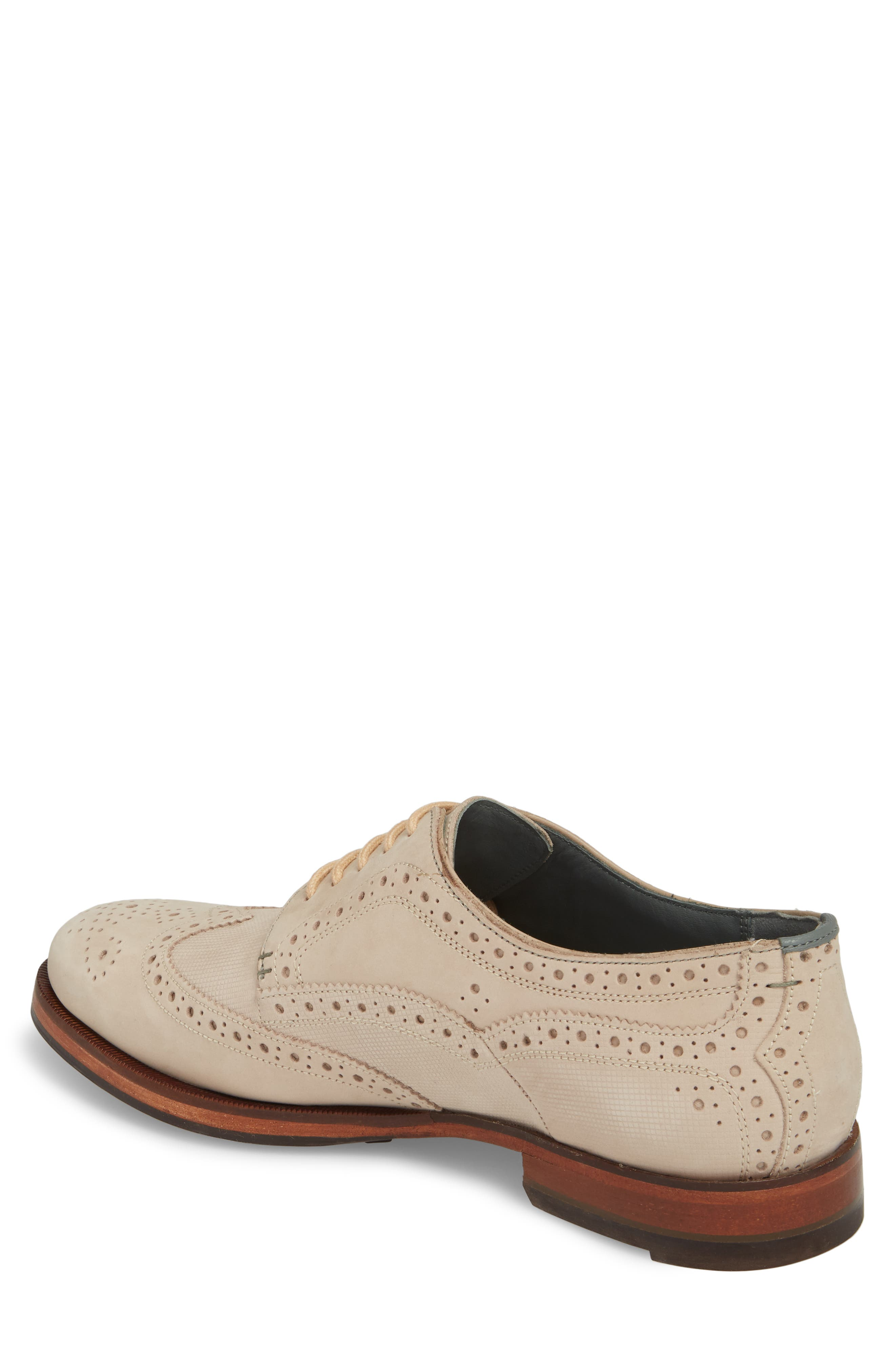 Senapen Wingtip Derby,                             Alternate thumbnail 2, color,                             LIGHT TAN SUEDE