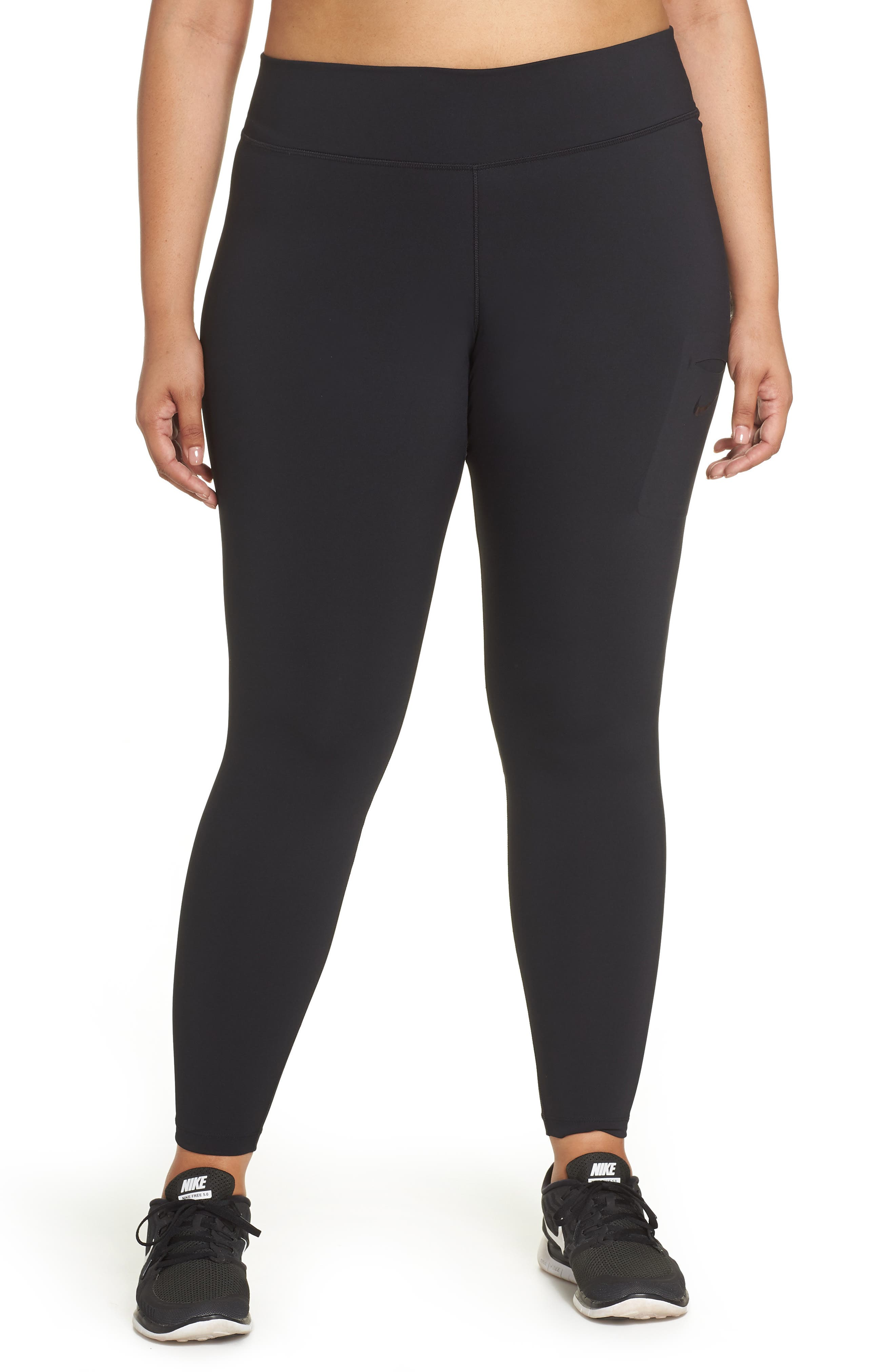 Plus Size Nike Power Training Tights
