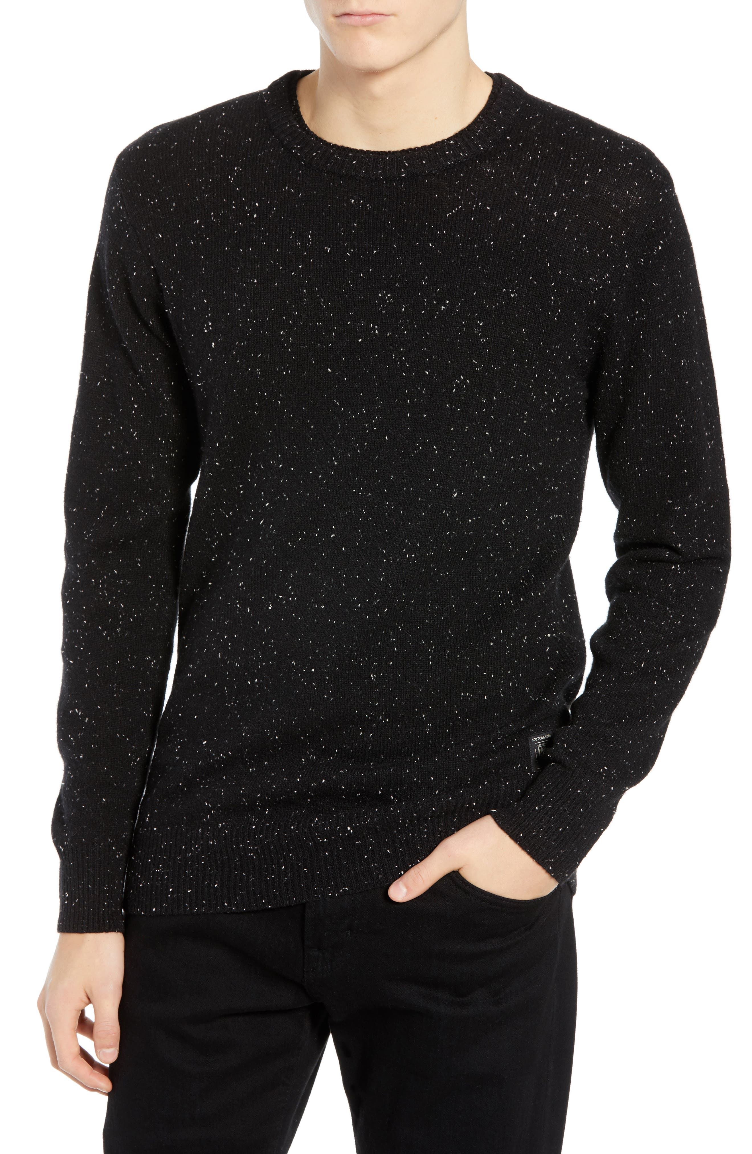 Nepped Wool Blend Sweater,                             Main thumbnail 1, color,                             COMBO B