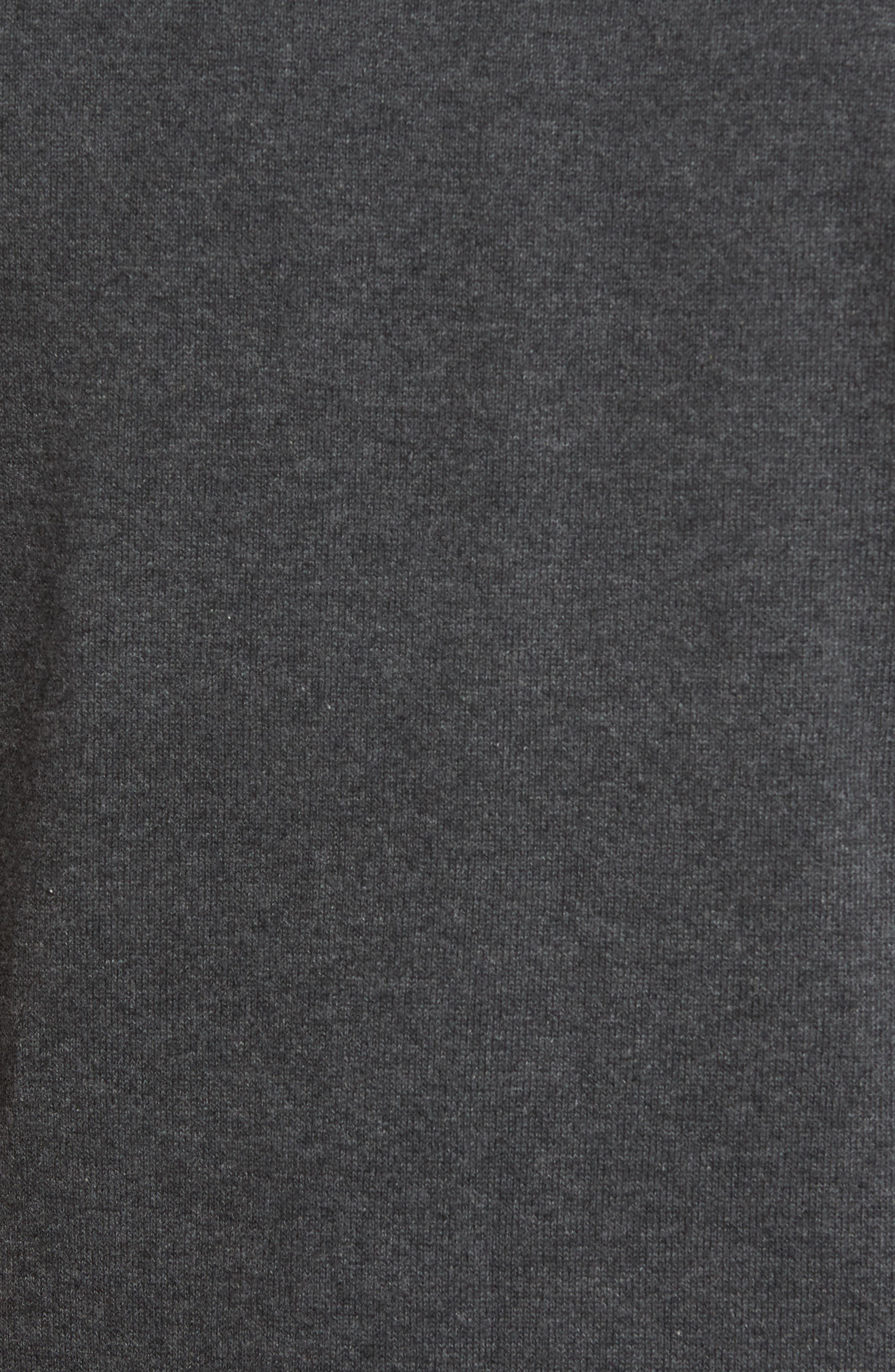 Lakemont V-Neck Sweater Vest,                             Alternate thumbnail 5, color,                             CHARCOAL HEATHER
