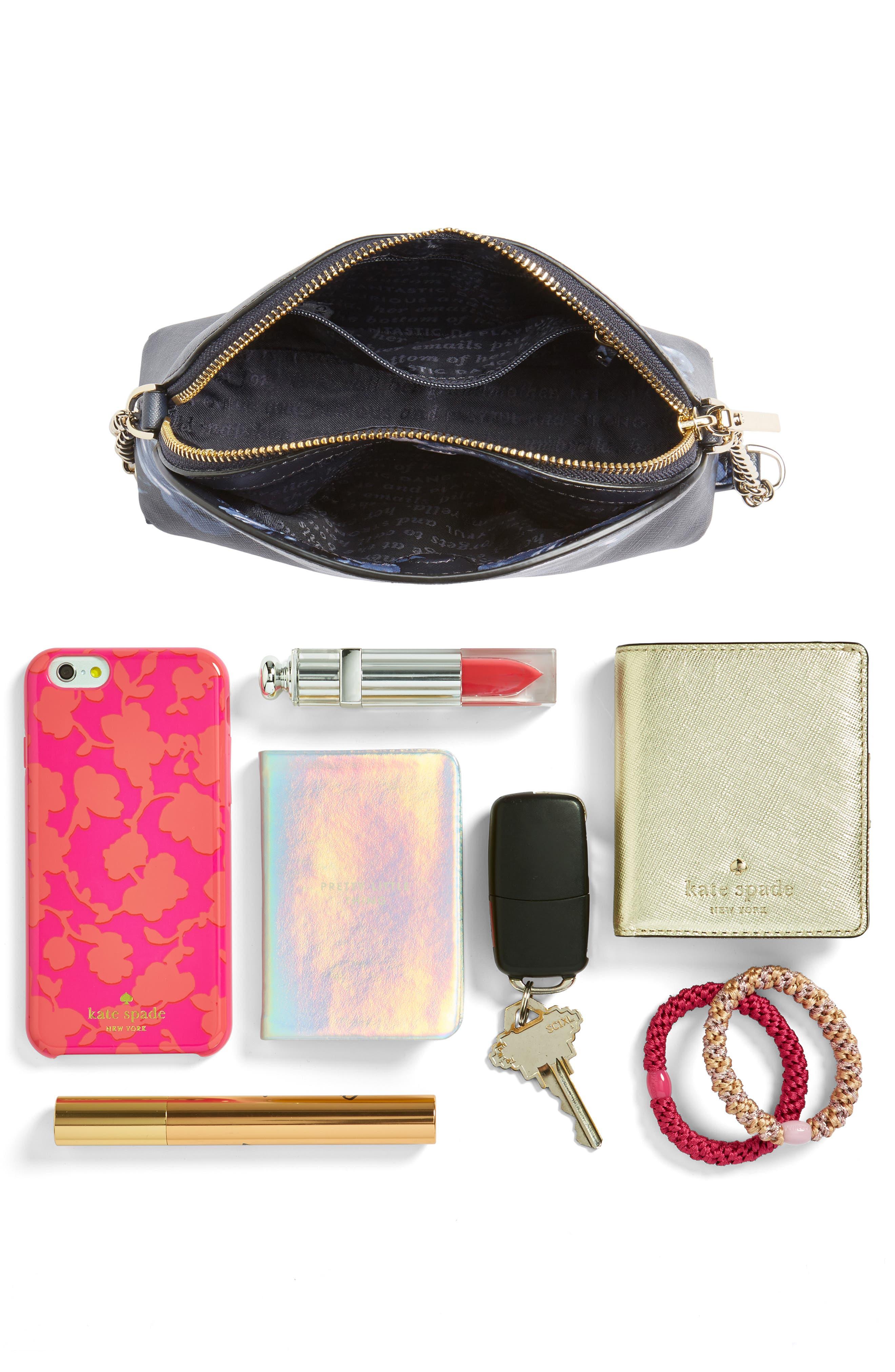 cameron street rose - hilli leather crossbody bag,                             Alternate thumbnail 7, color,                             458