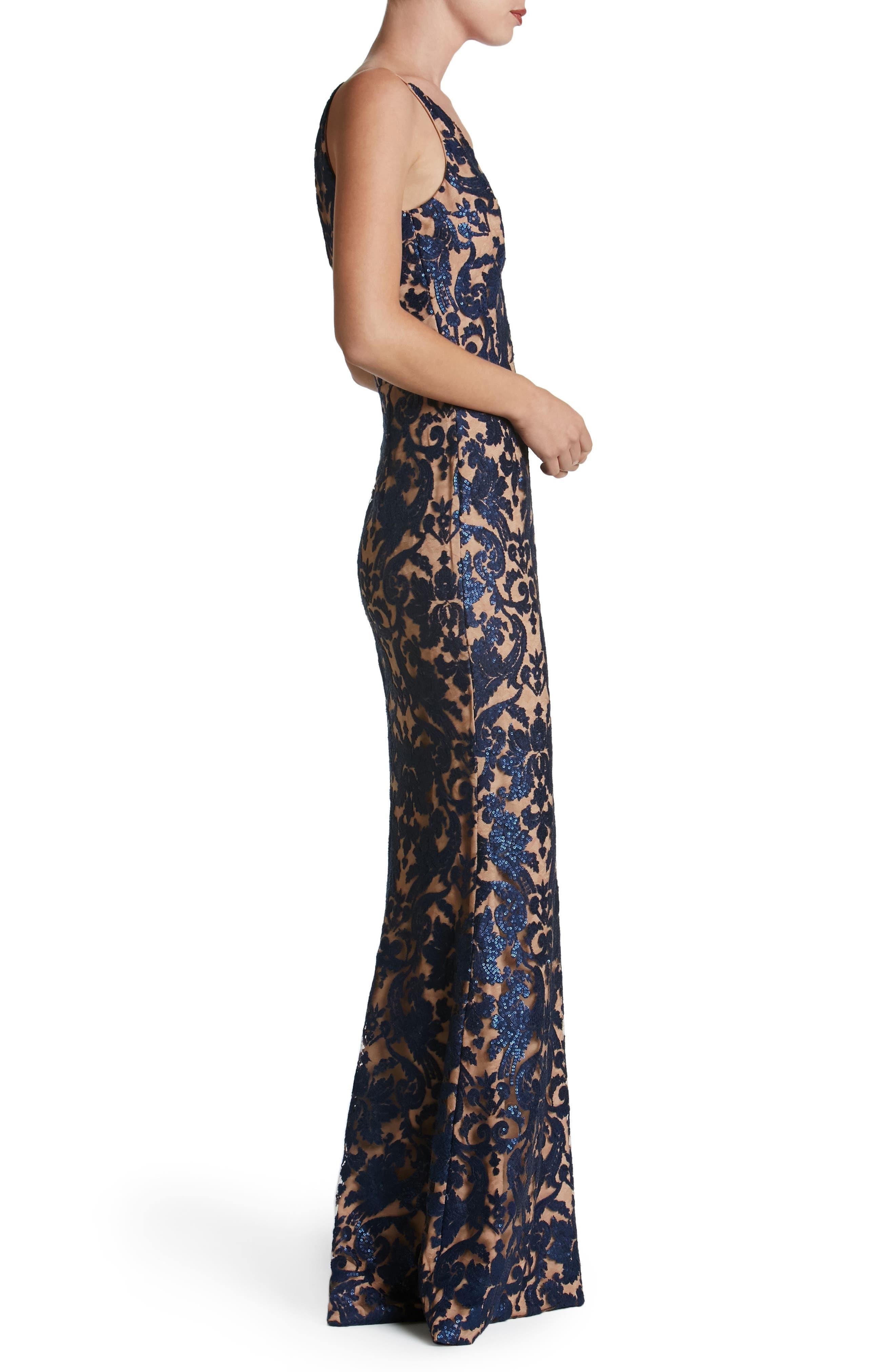 Karen Mermaid Gown,                             Alternate thumbnail 20, color,