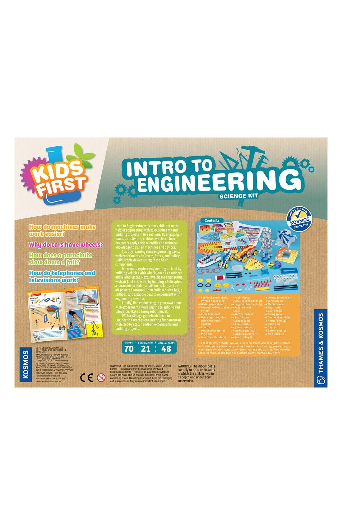 'Intro To Engineering' Science Kit,                             Alternate thumbnail 2, color,                             400