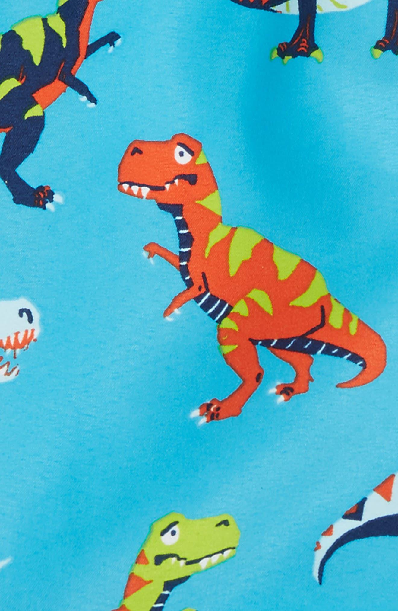 Roaring T-Rex Swim Trunks,                             Alternate thumbnail 2, color,                             400