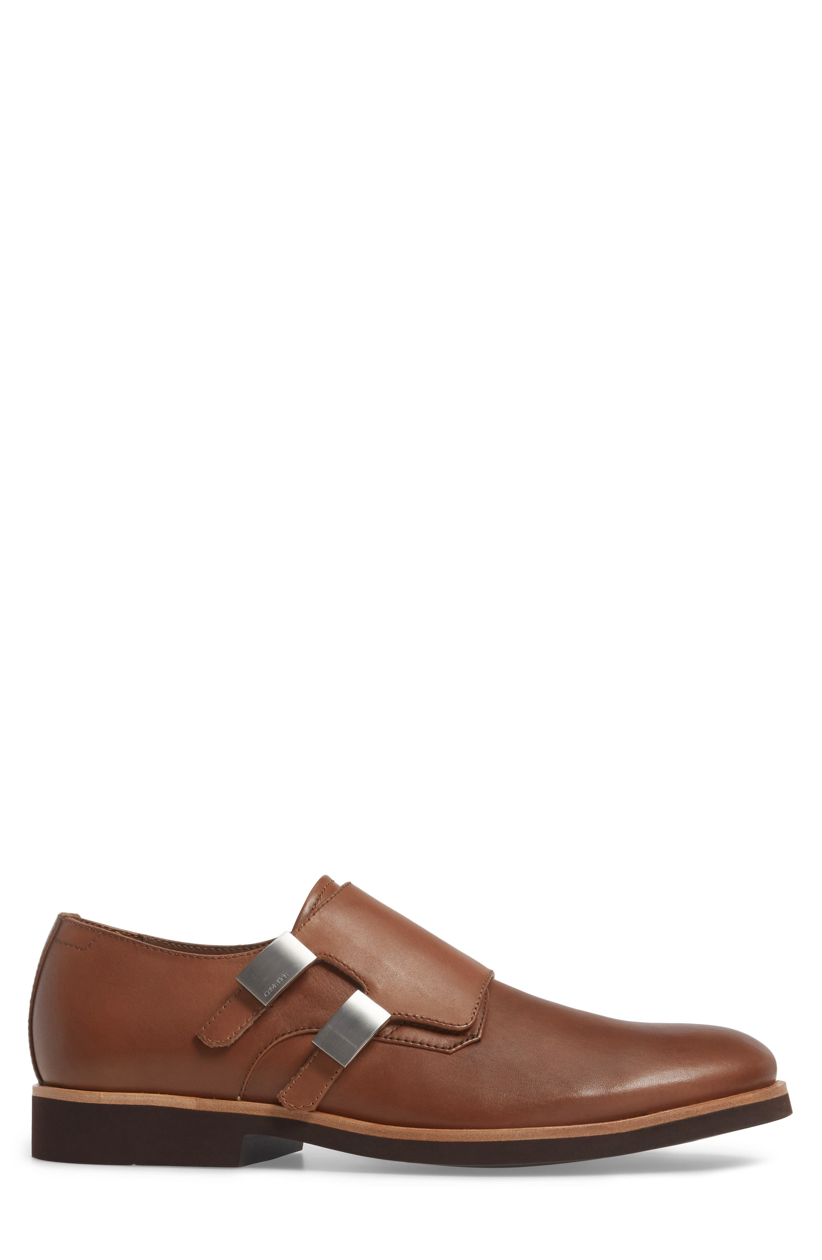 Finnegan Double Monk Strap Shoe,                             Alternate thumbnail 6, color,