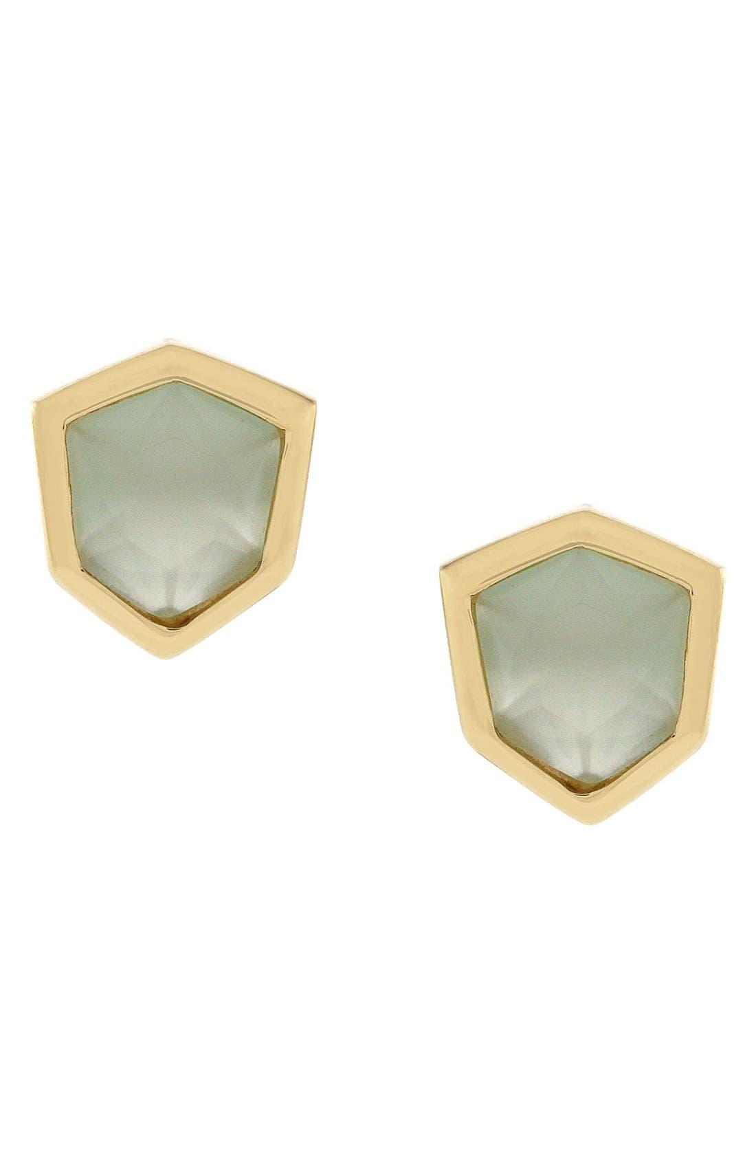 Crystal Stud Earrings, Main, color, 440