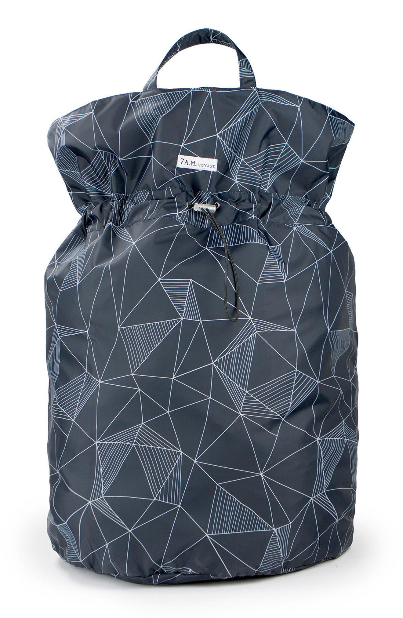 Water Repellent Hamper Bag,                         Main,                         color, 001