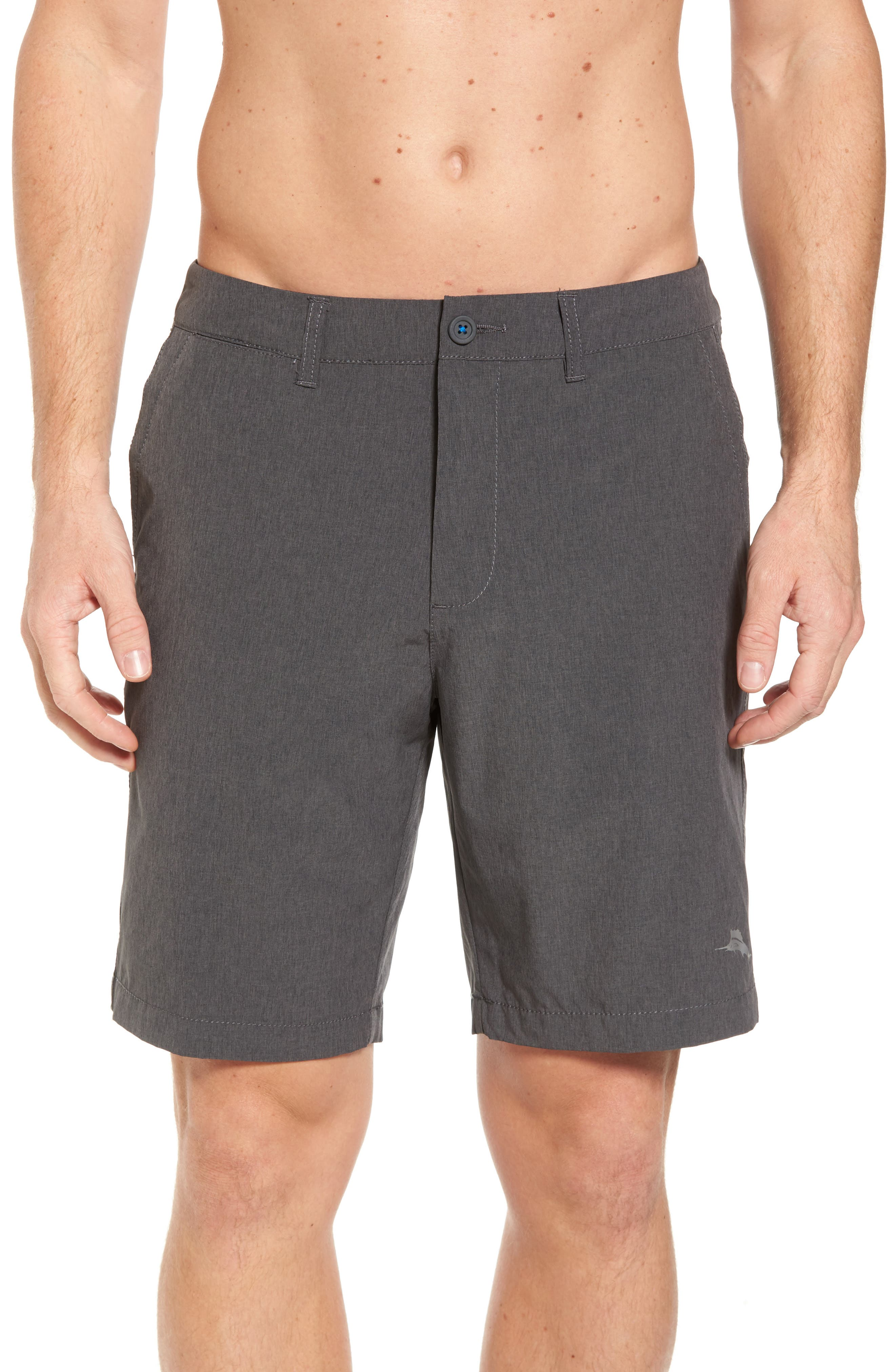 'Cayman Isles' Hybrid Swim Shorts,                             Main thumbnail 1, color,                             002
