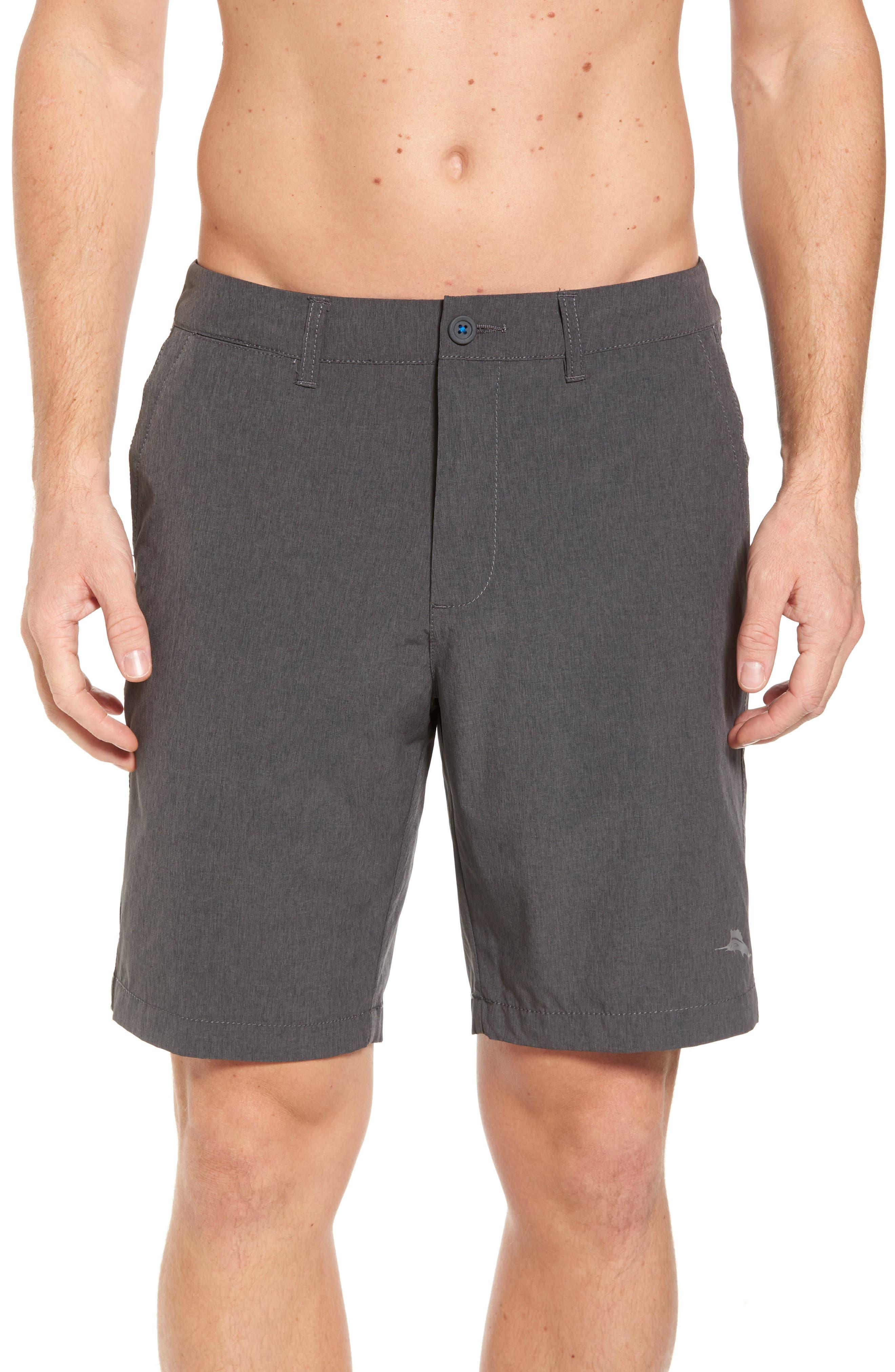 'Cayman Isles' Hybrid Swim Shorts,                         Main,                         color, 002