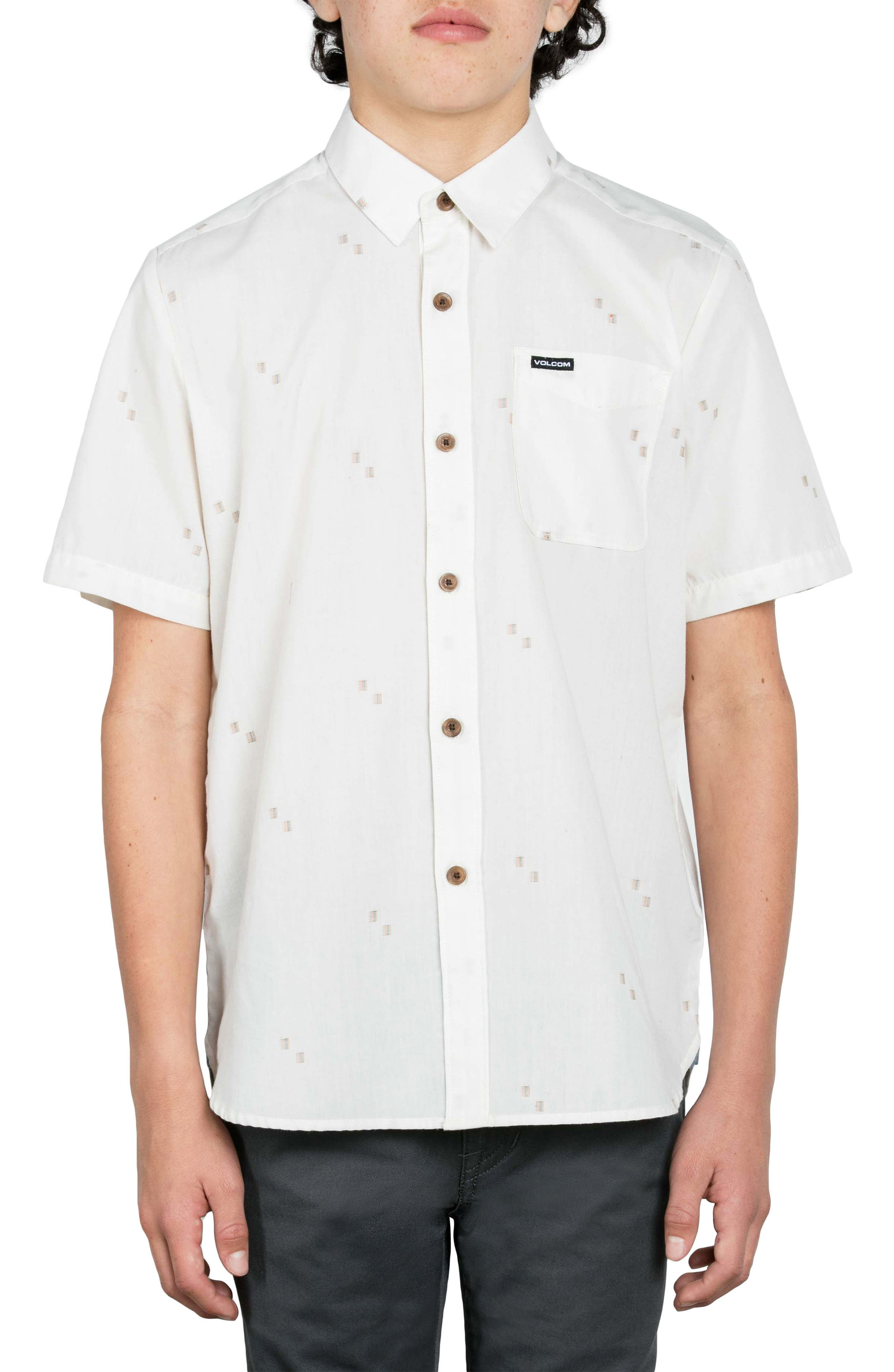 Floyd Geo Pattern Woven Shirt,                         Main,                         color, 119