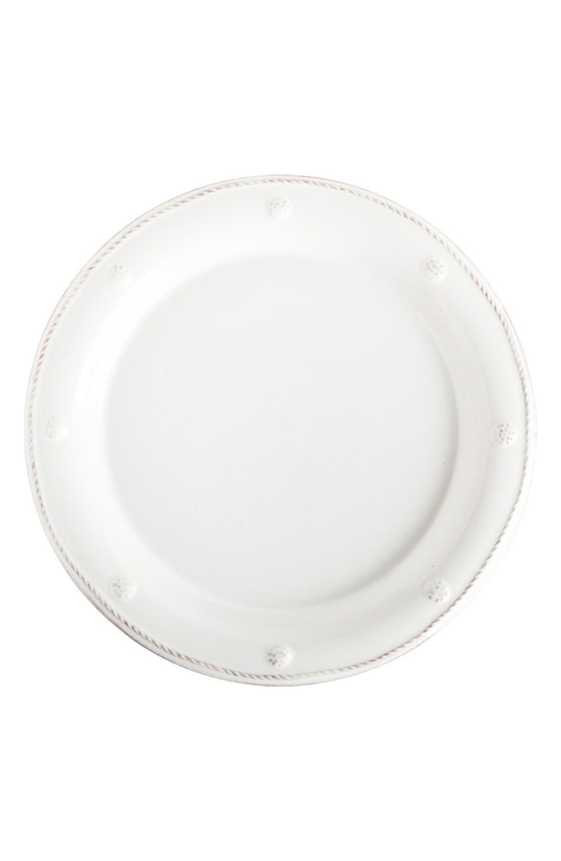 'Berry and Thread' Salad Plate,                             Main thumbnail 1, color,                             WHITEWASH