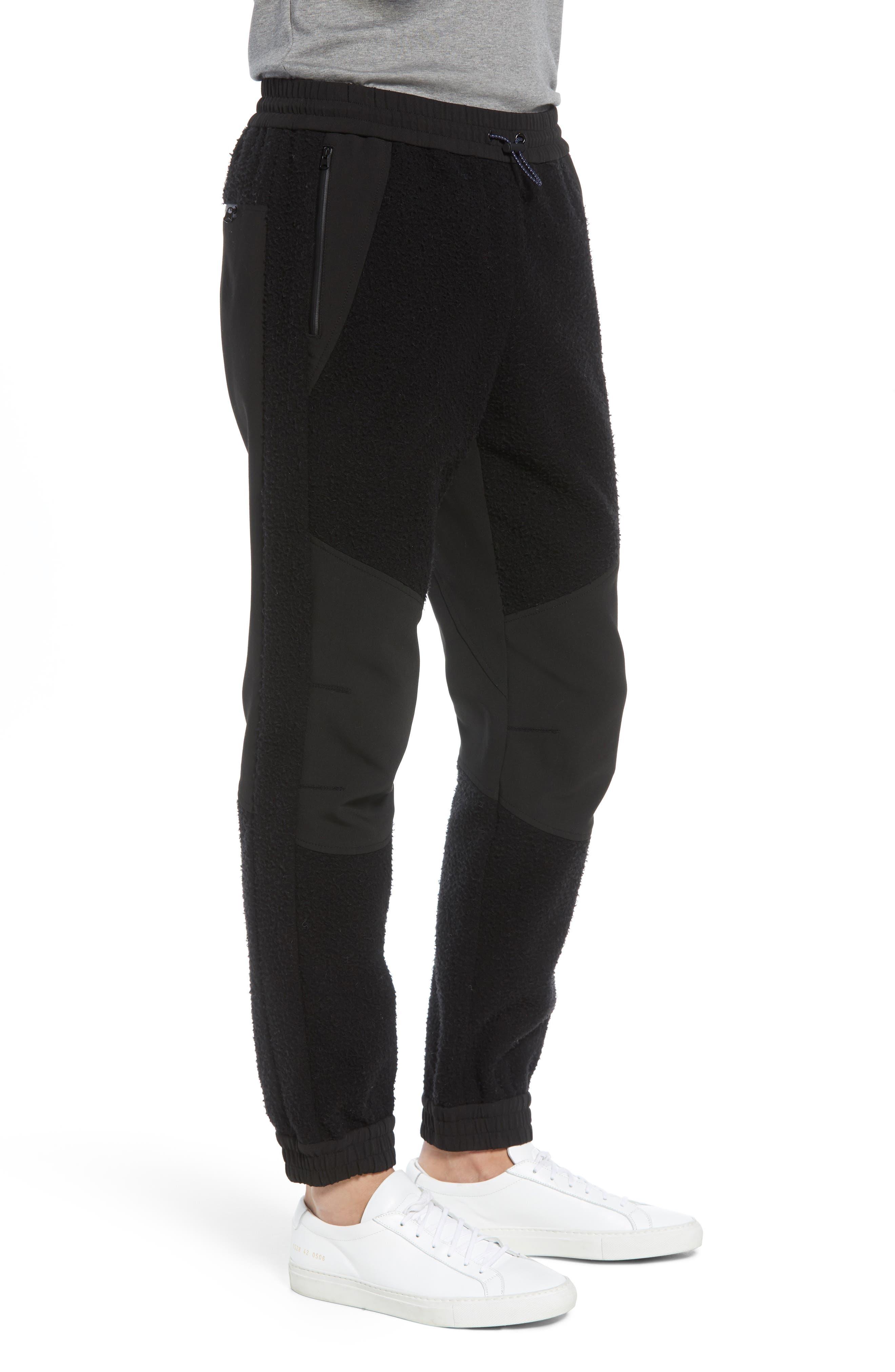 Tech Jogger Pants,                             Alternate thumbnail 3, color,                             BLACK