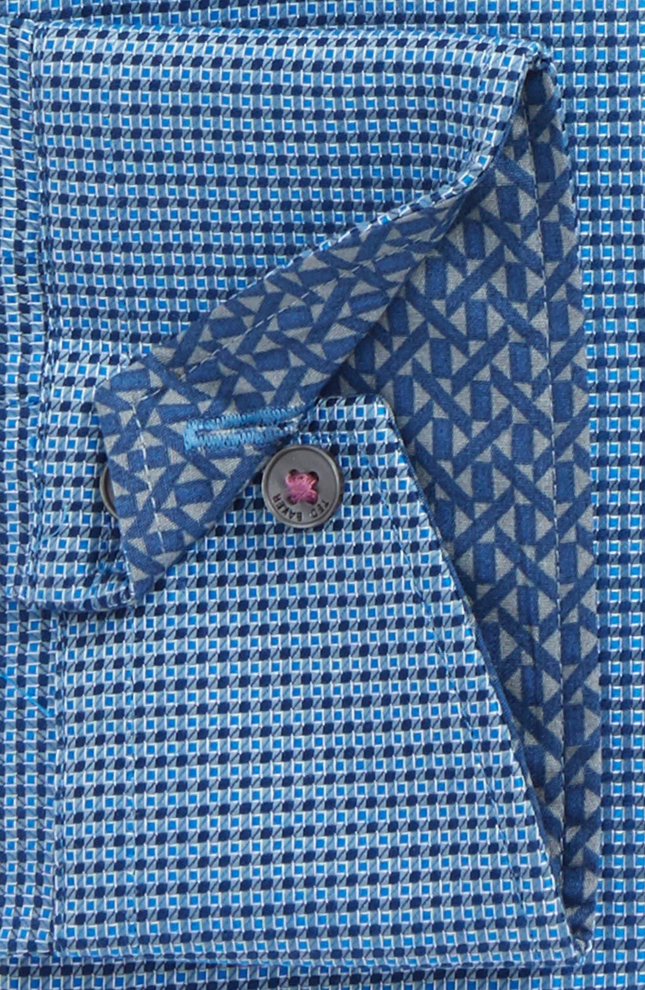 TED BAKER LONDON,                             Endurance Slim Fit Box Twill Dress Shirt,                             Alternate thumbnail 2, color,                             410