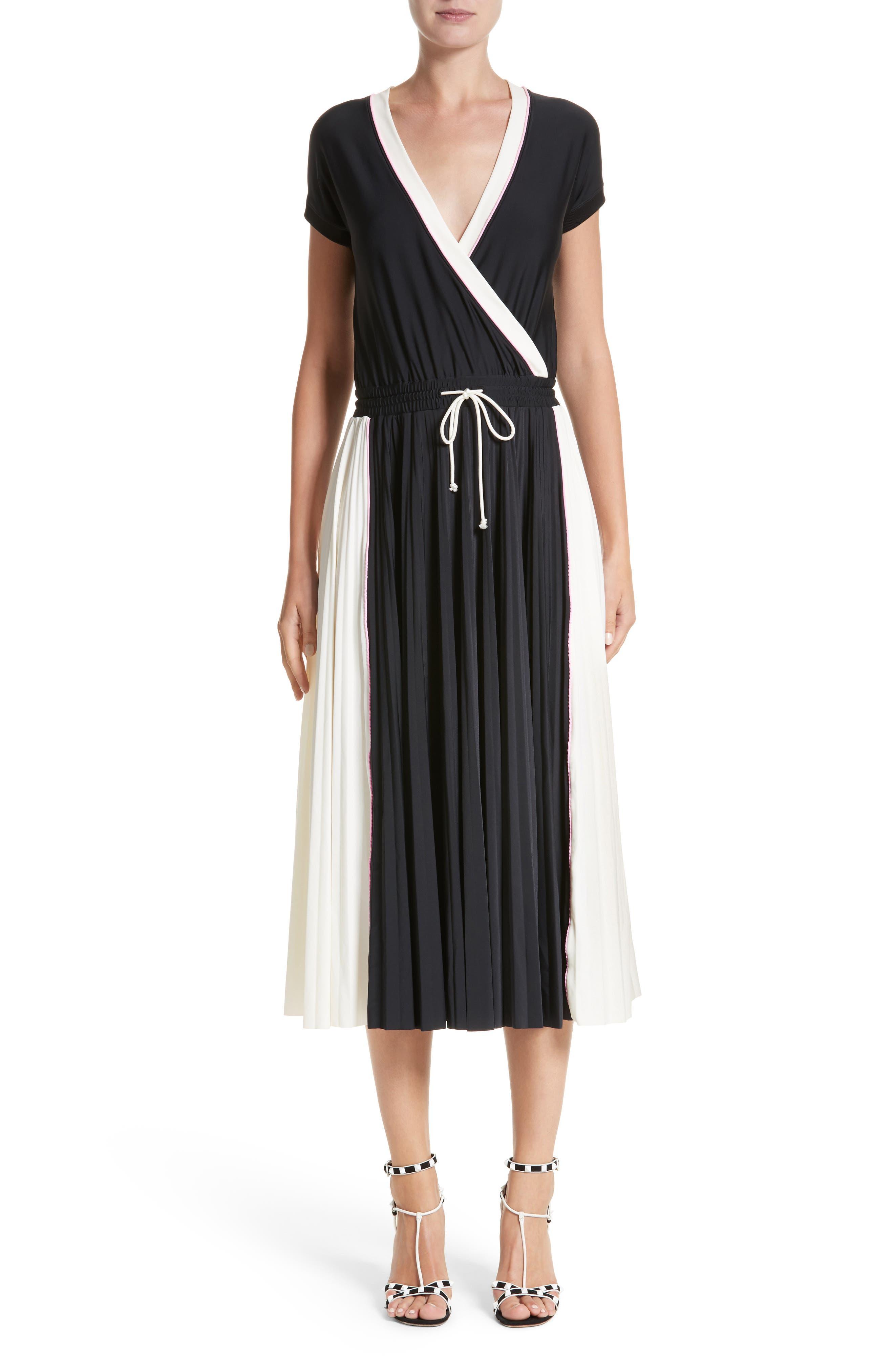 Sport Jersey Midi Dress,                             Main thumbnail 1, color,