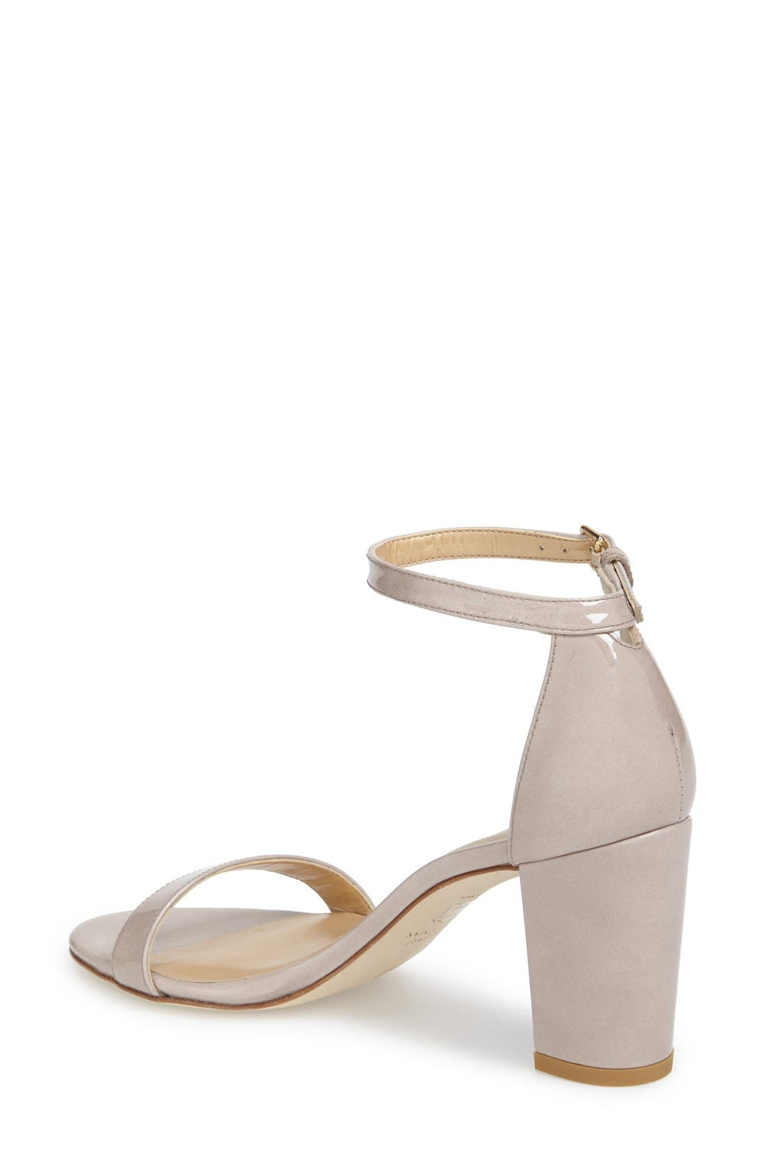 NearlyNude Ankle Strap Sandal,                             Alternate thumbnail 73, color,