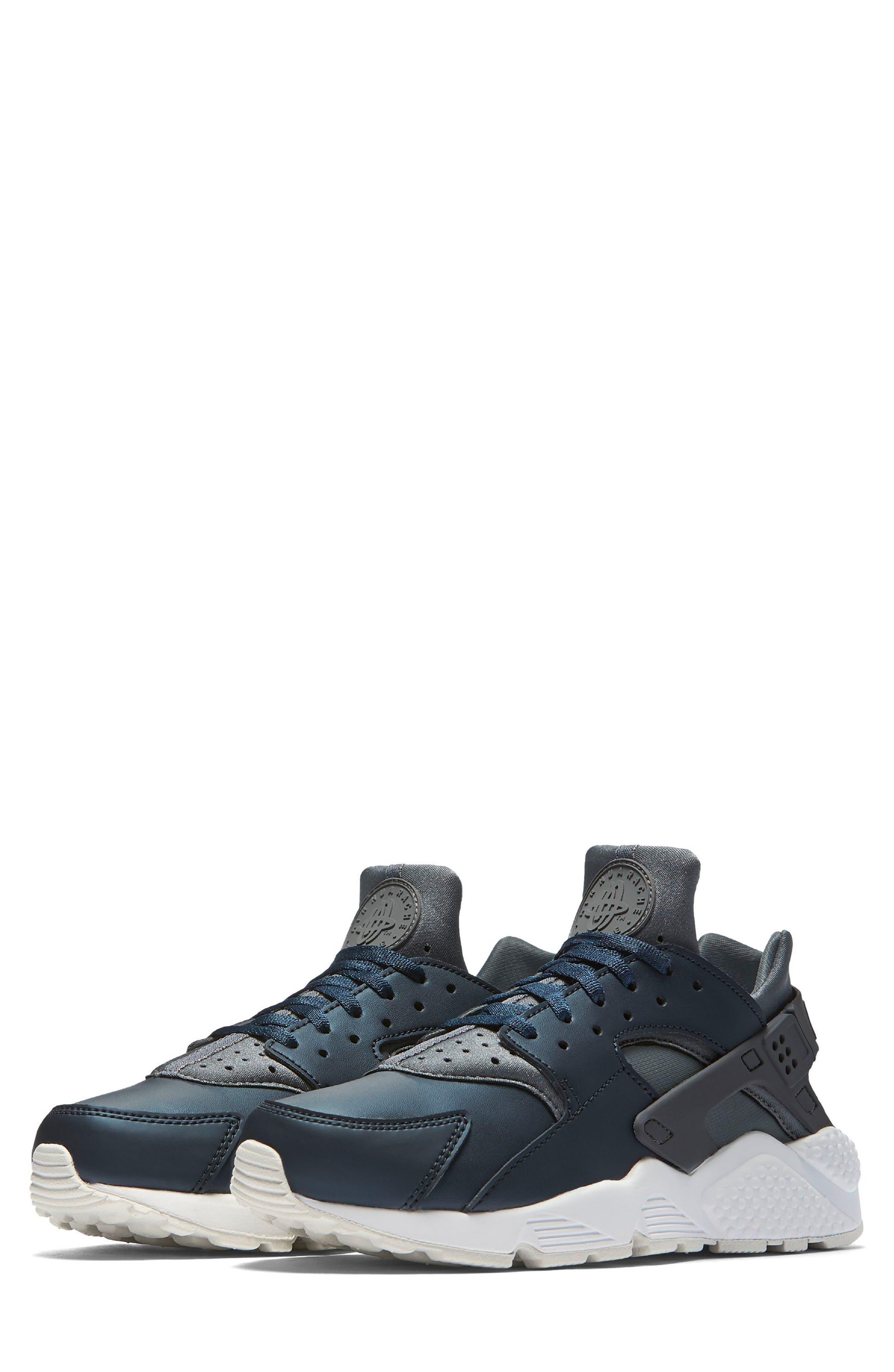 Air Huarache Run Premium Sneaker,                             Main thumbnail 1, color,                             020