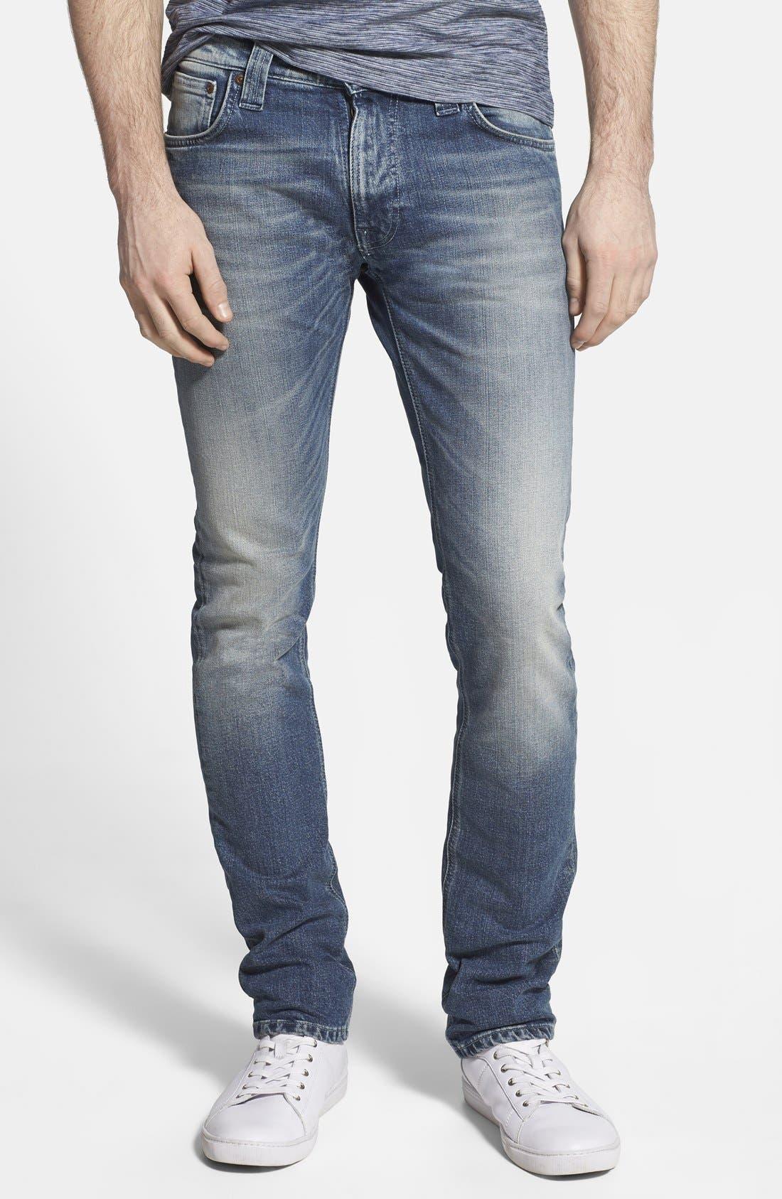 'Thin Finn' Skinny Fit Jeans,                             Main thumbnail 1, color,                             401