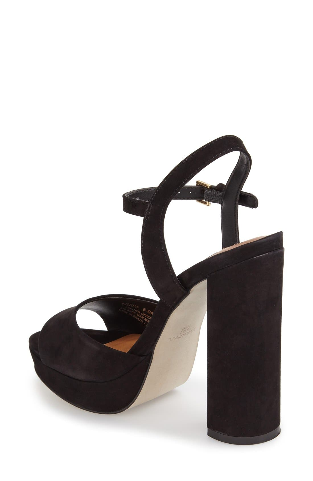 'Kierra' Platform Sandal,                             Alternate thumbnail 3, color,                             005